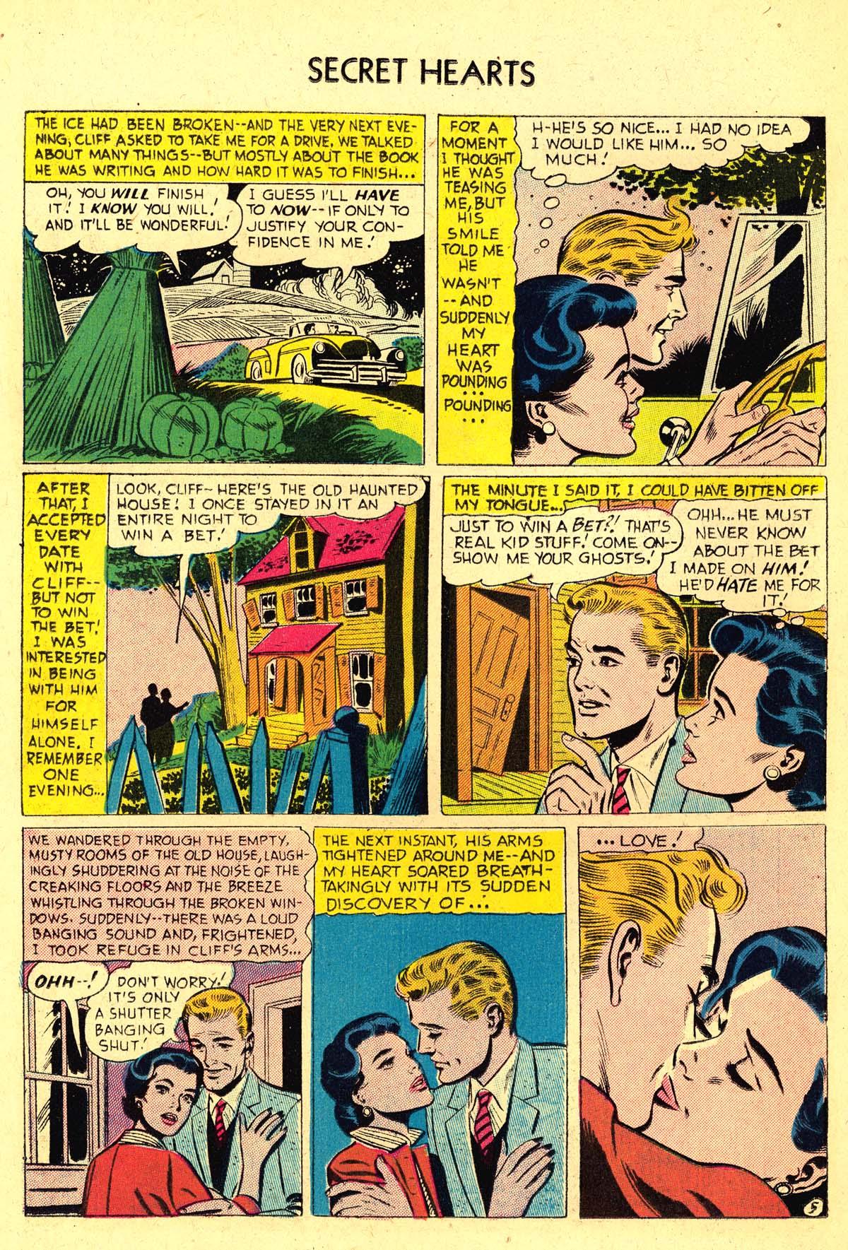 Read online Secret Hearts comic -  Issue #37 - 14