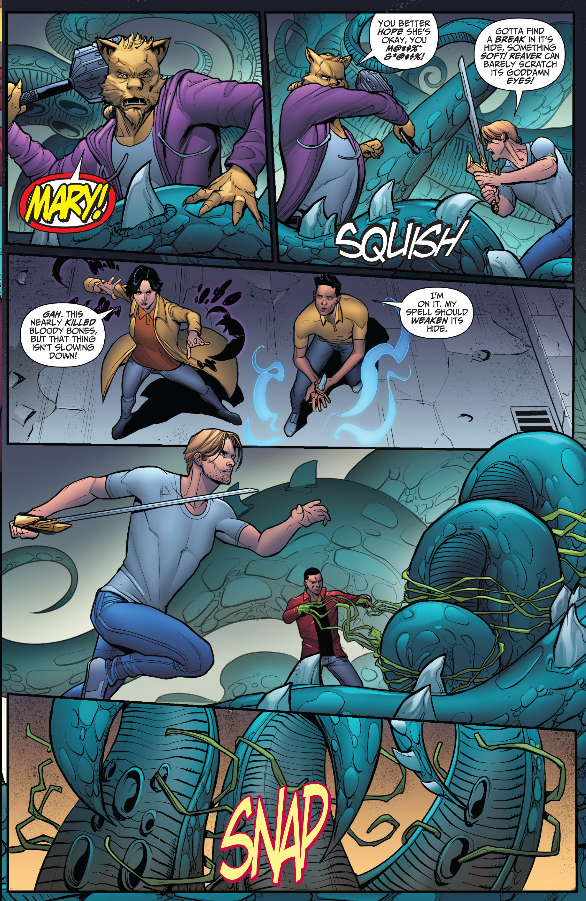 Read online Grimm Fairy Tales: Arcane Acre comic -  Issue # TPB 4 - 126