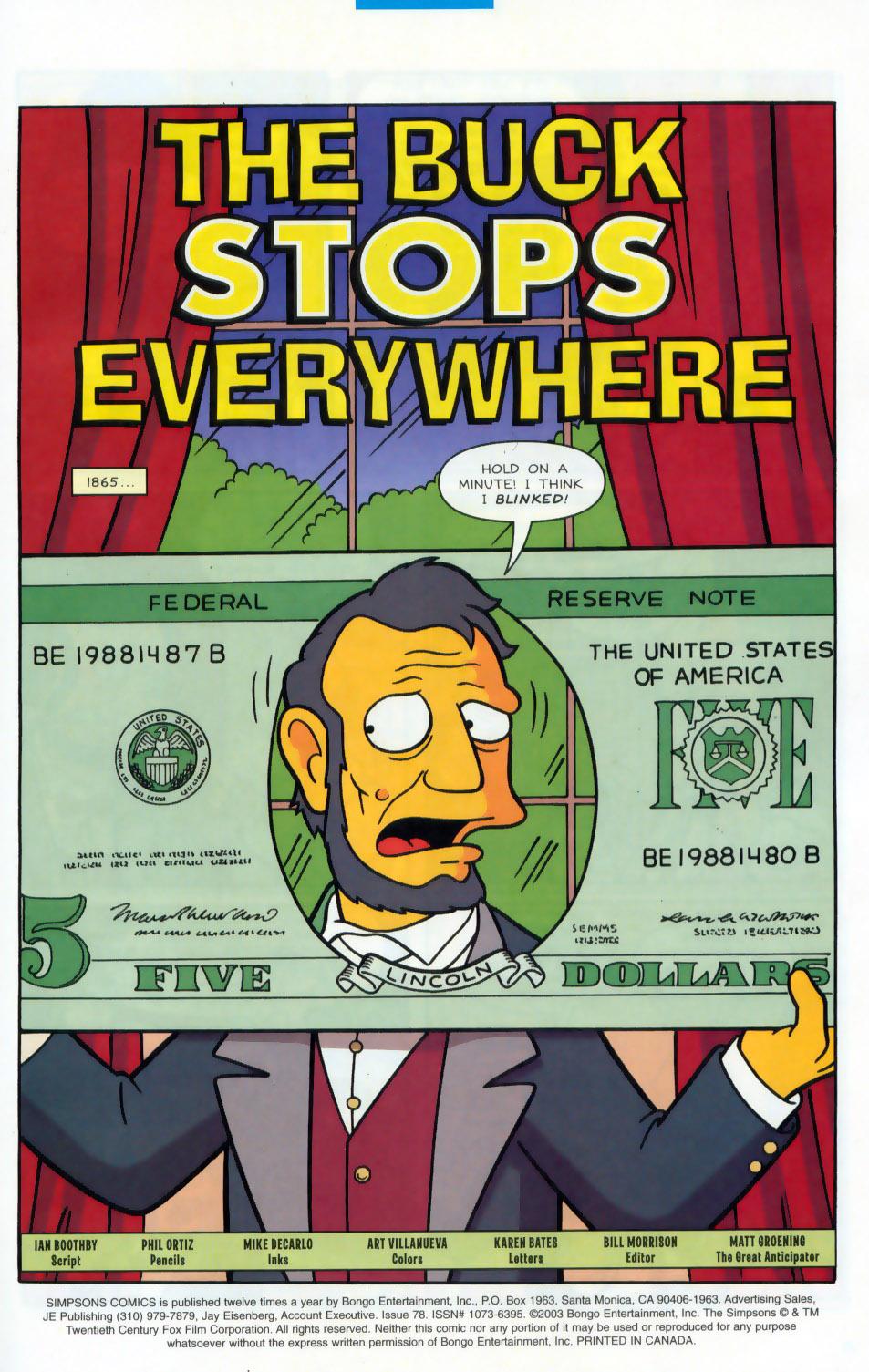 Read online Simpsons Comics comic -  Issue #78 - 2