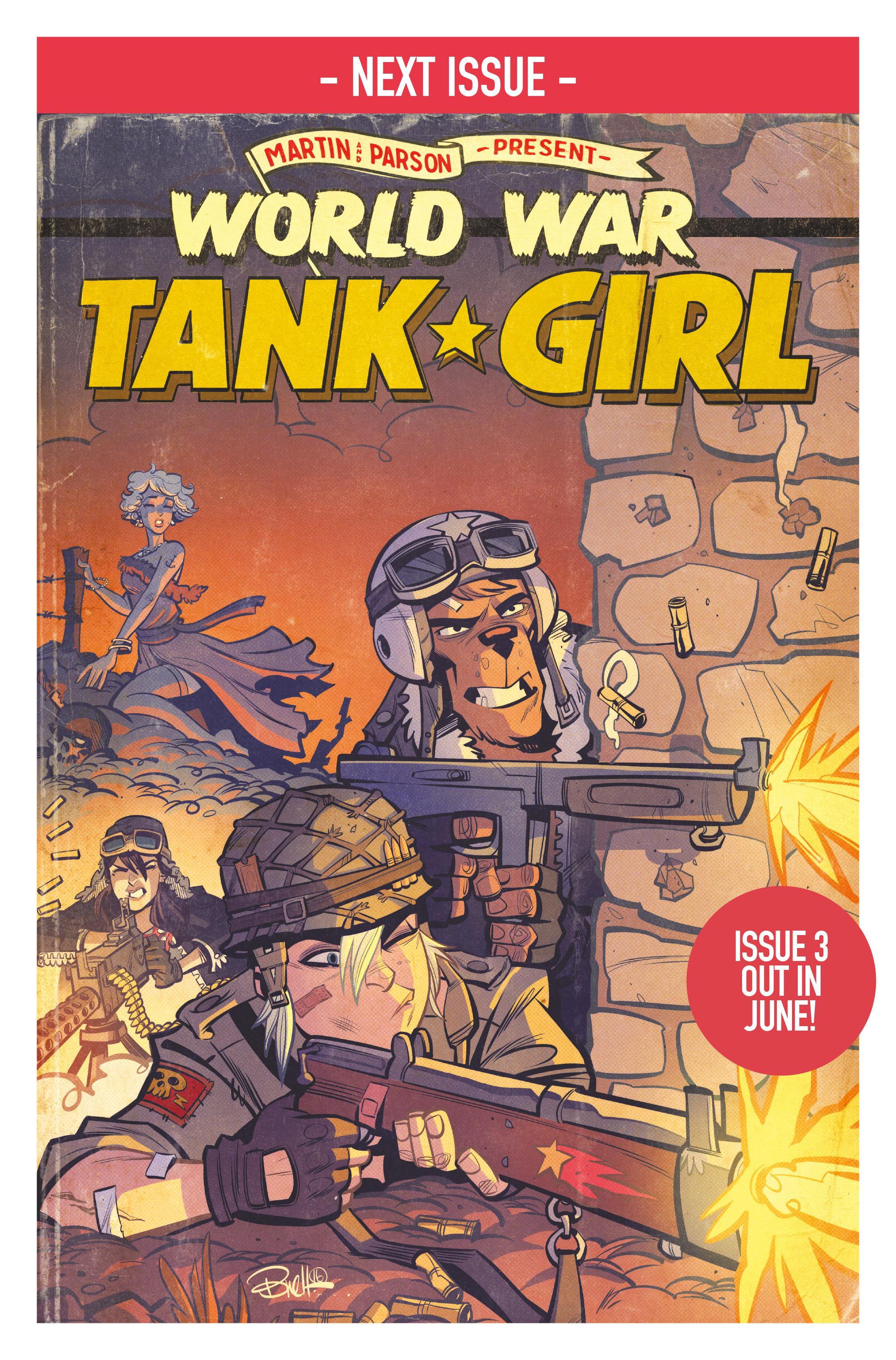 Read online Tank Girl: World War Tank Girl comic -  Issue #2 - 24