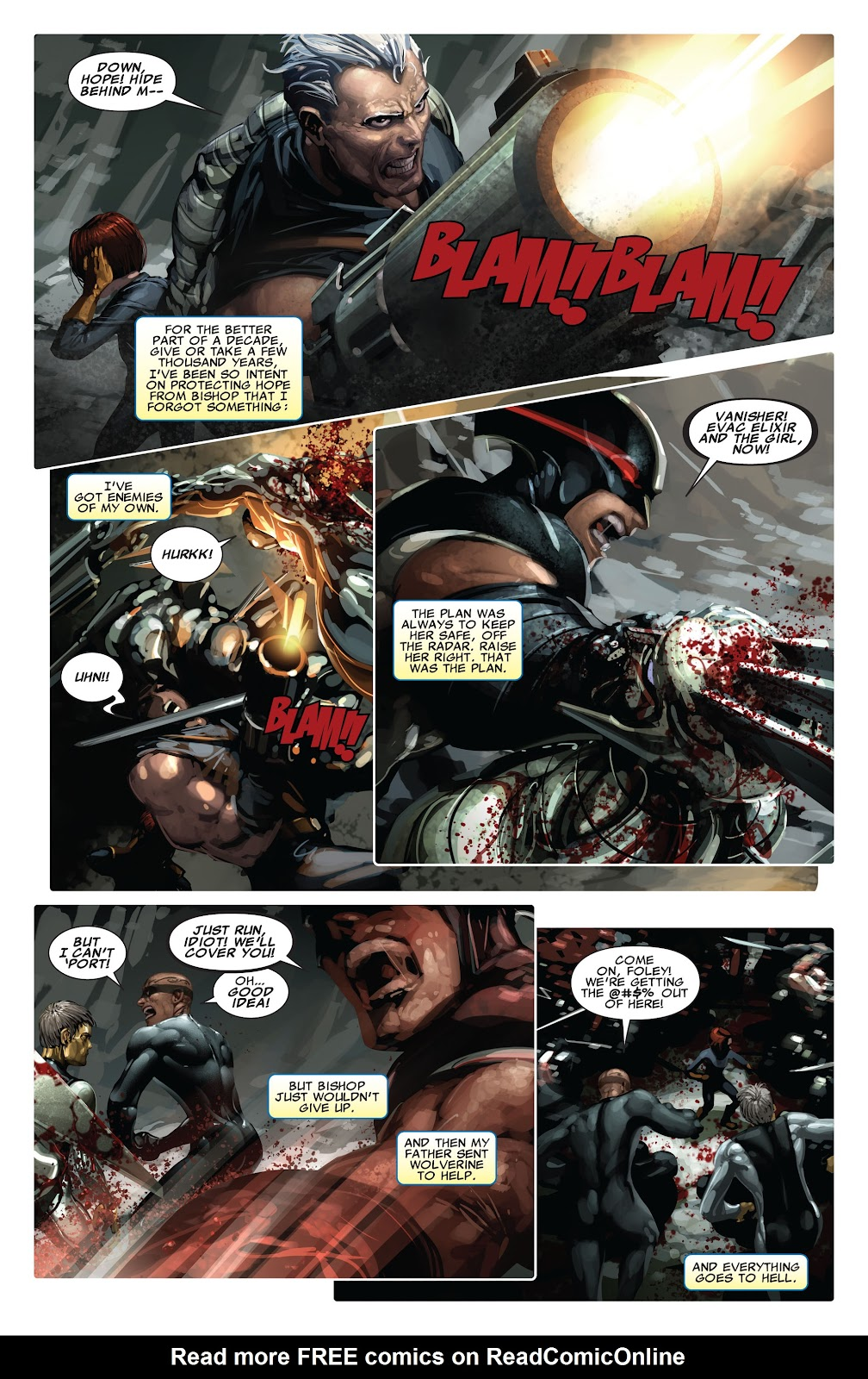 Read online X-Force/Cable: Messiah War comic -  Issue # _TPB (Part 2) - 20