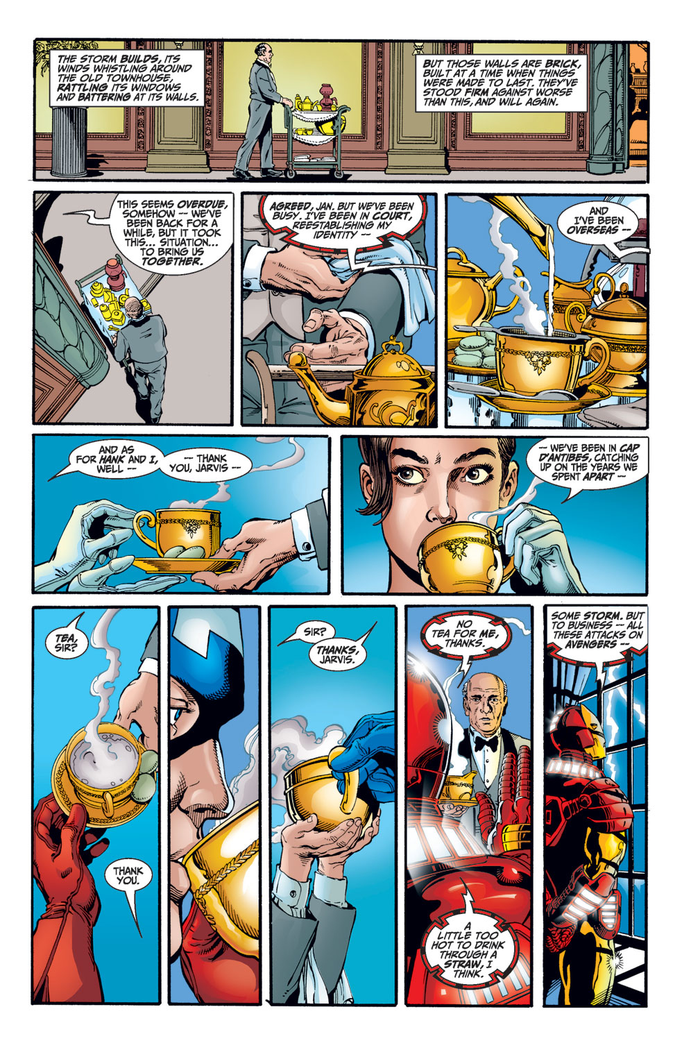 Avengers (1998) issue 1 - Page 3