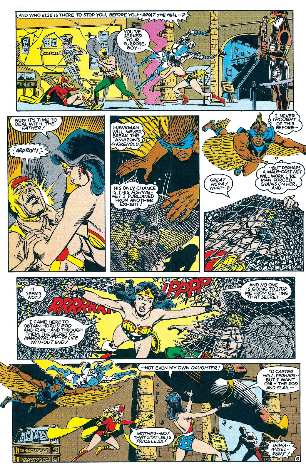Infinity Inc. (1984) issue 7 - Page 19