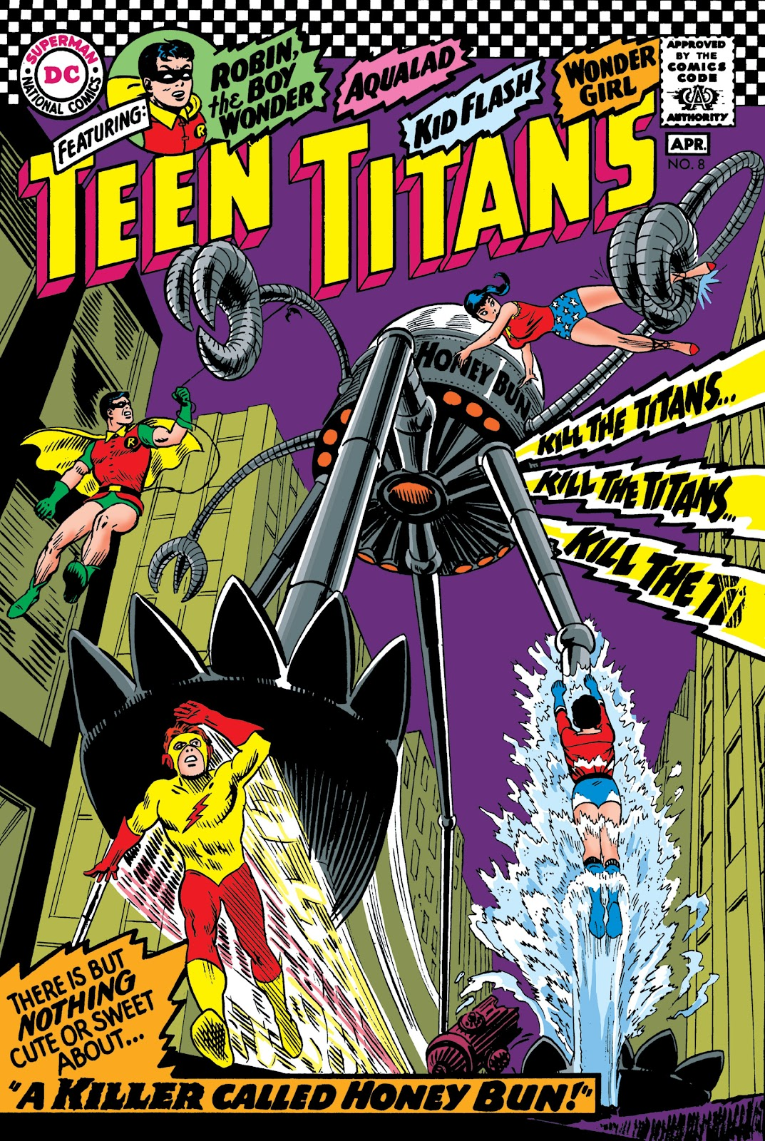 Teen Titans (1966) issue 8 - Page 1