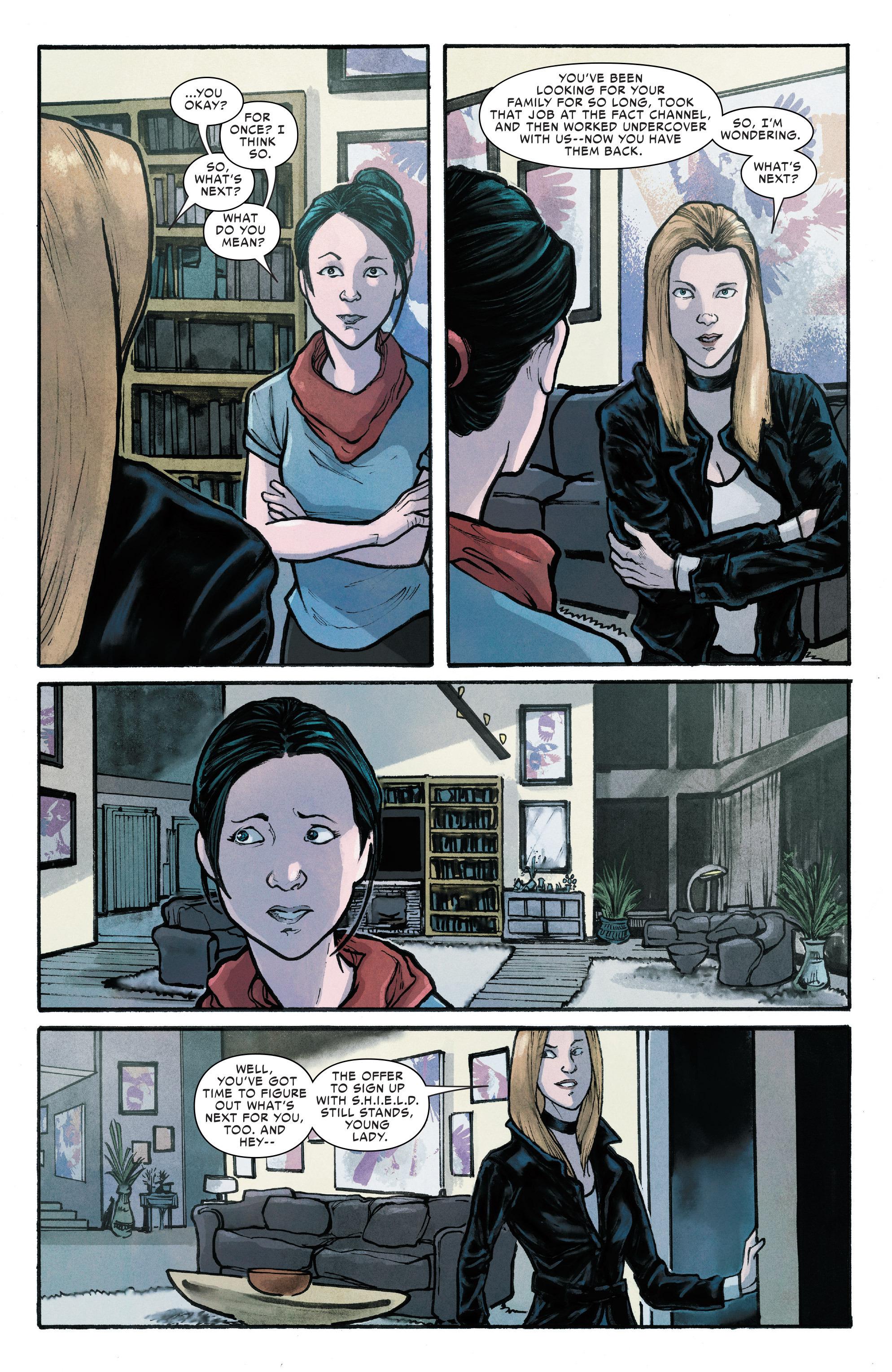 Read online Silk (2016) comic -  Issue #13 - 18
