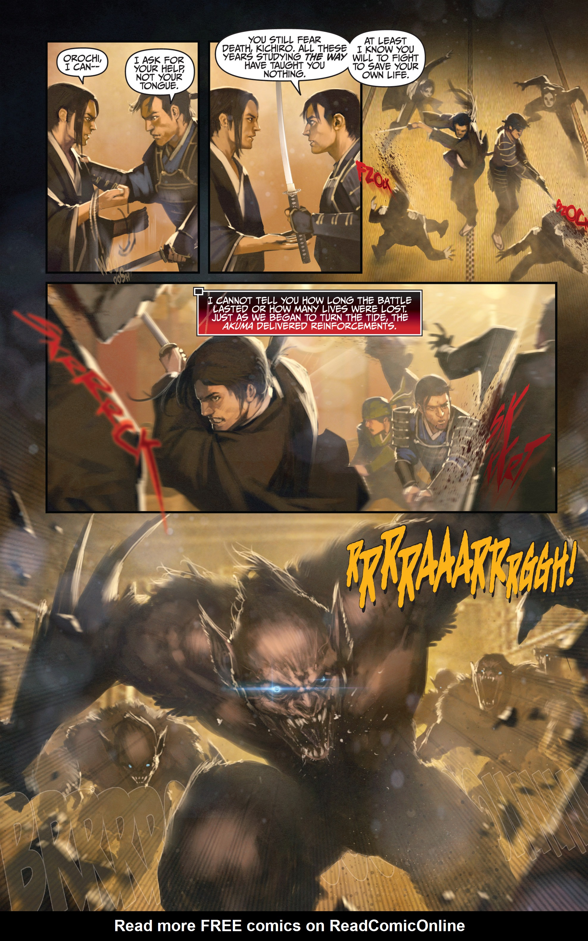 Read online Bushido: The Way of the Warrior comic -  Issue #3 - 5