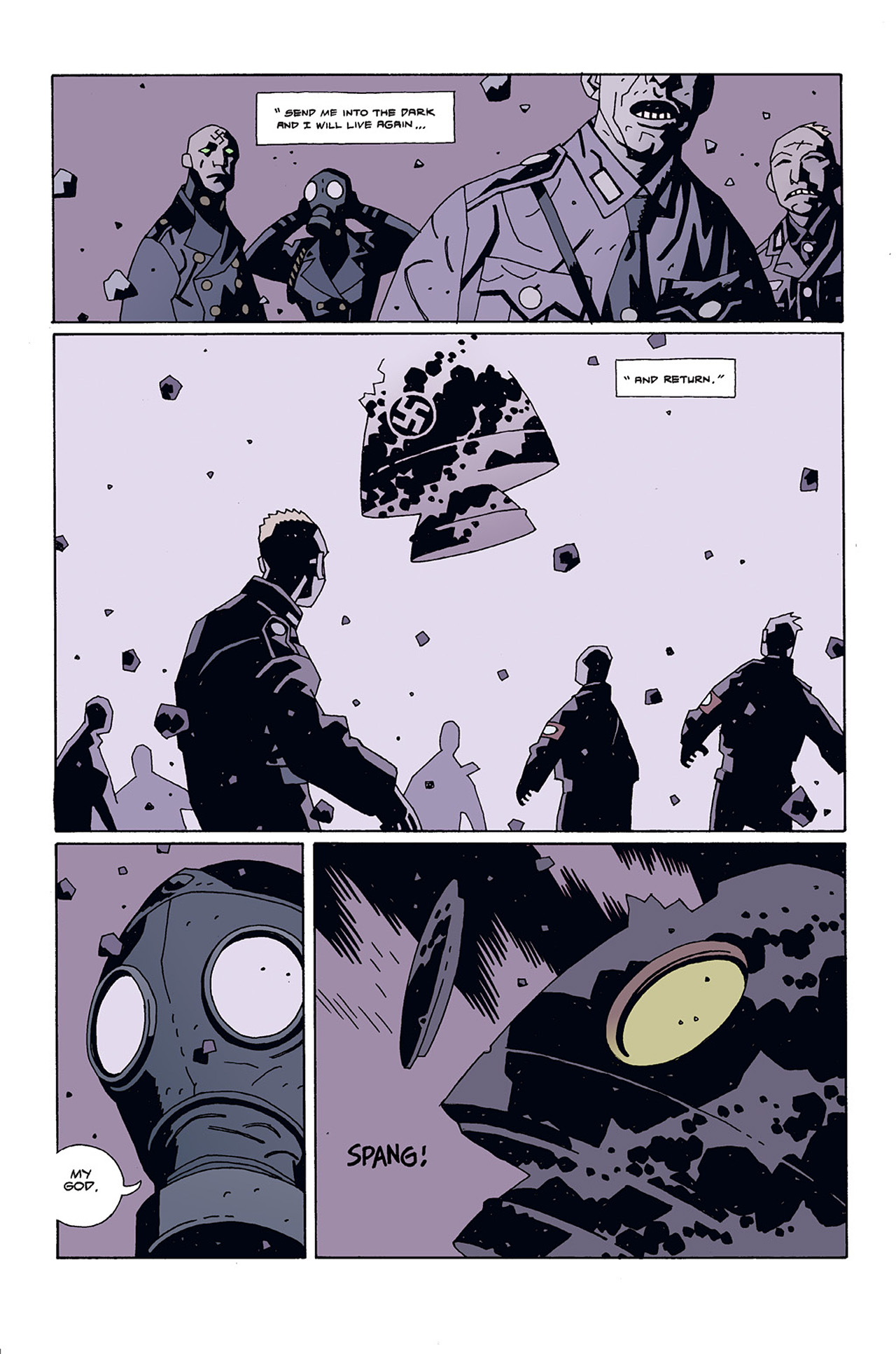 Read online Hellboy: Conqueror Worm comic -  Issue #3 - 5