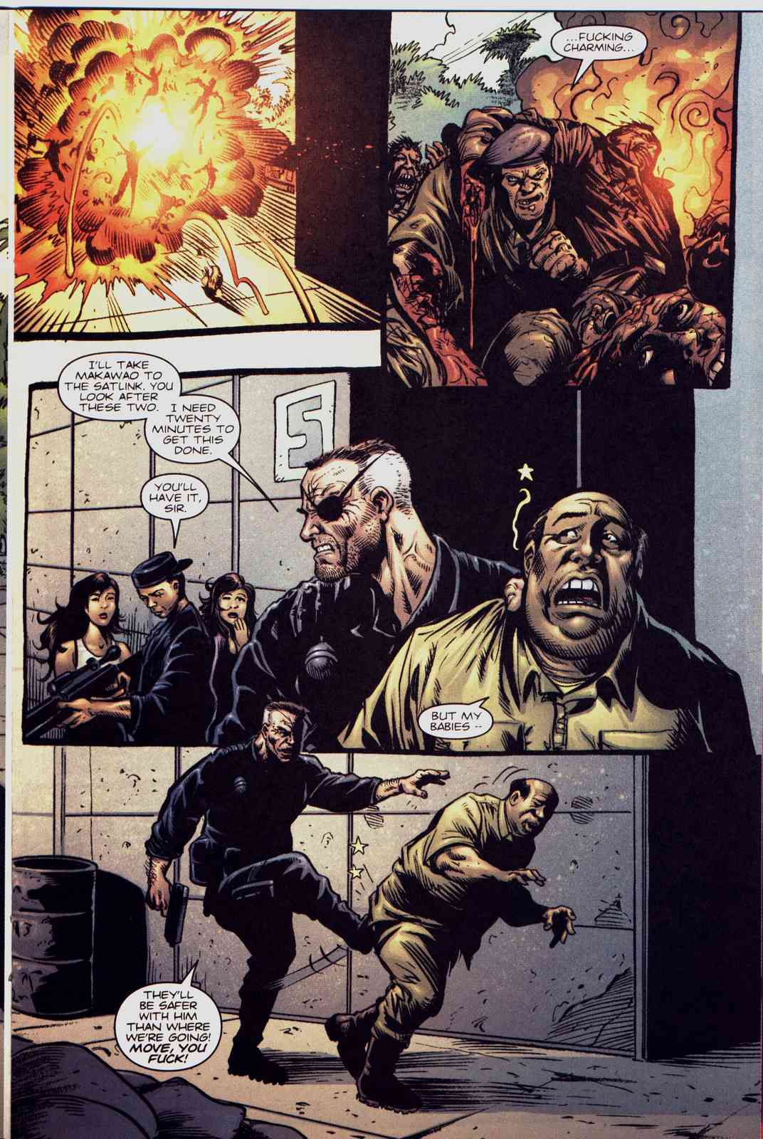 Read online Fury comic -  Issue #5 - 10