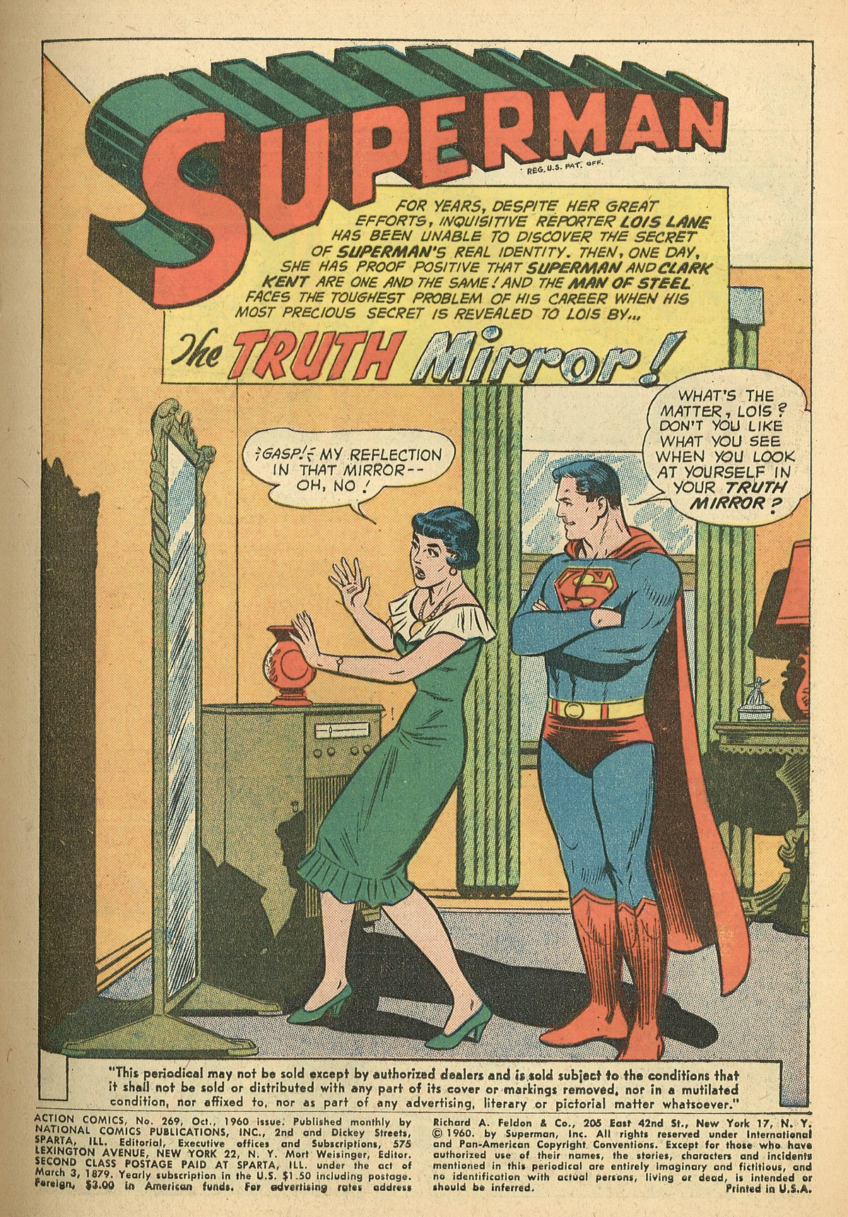 Read online Action Comics (1938) comic -  Issue #269 - 3