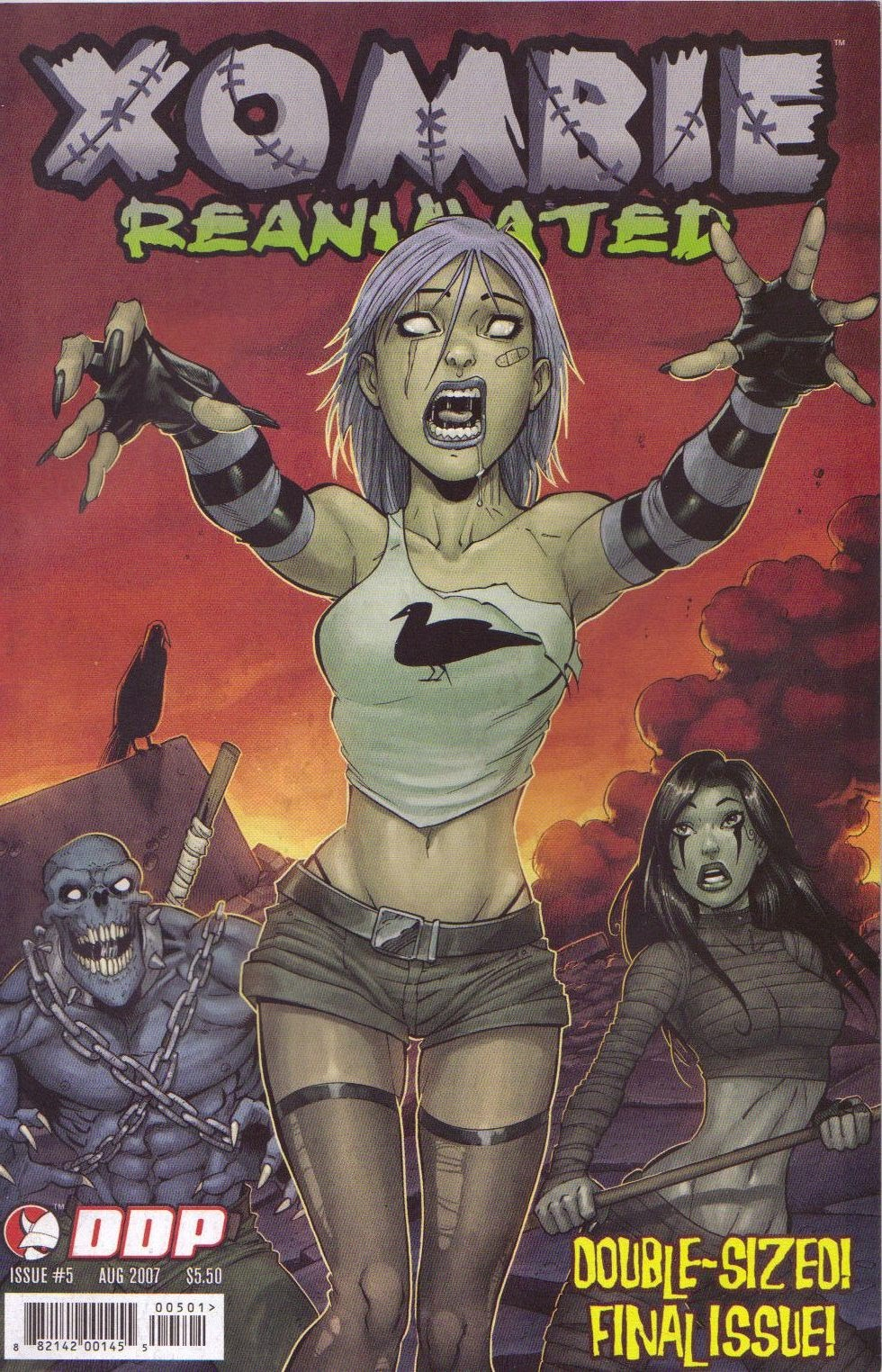 Read online Xombie Reanimated comic -  Issue #5 - 1