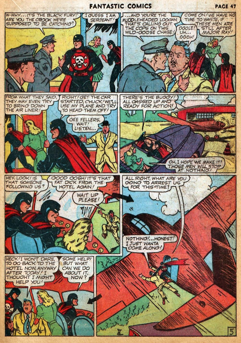 Read online Fantastic Comics comic -  Issue #22 - 48