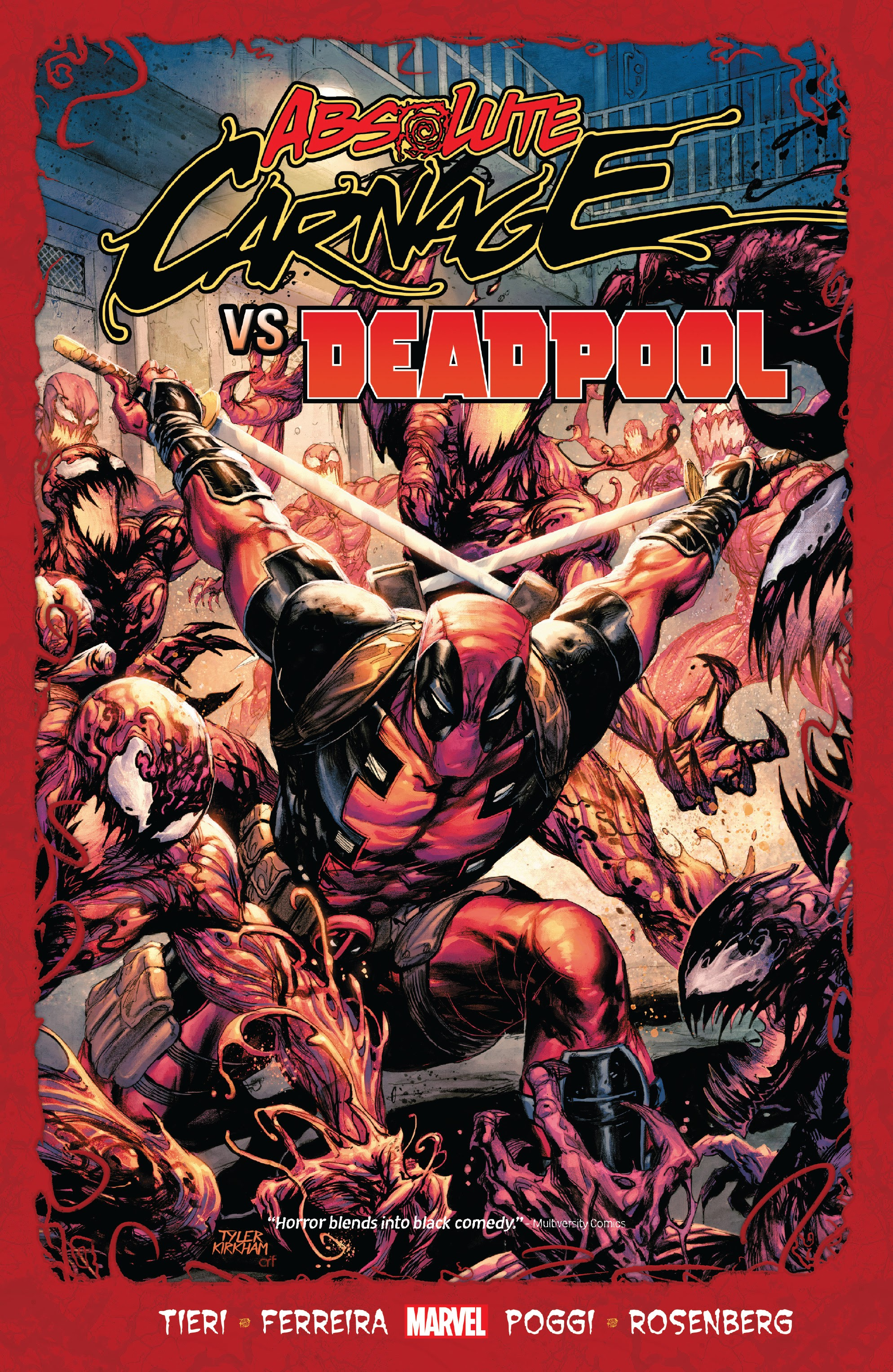 Absolute Carnage vs. Deadpool TPB Page 1