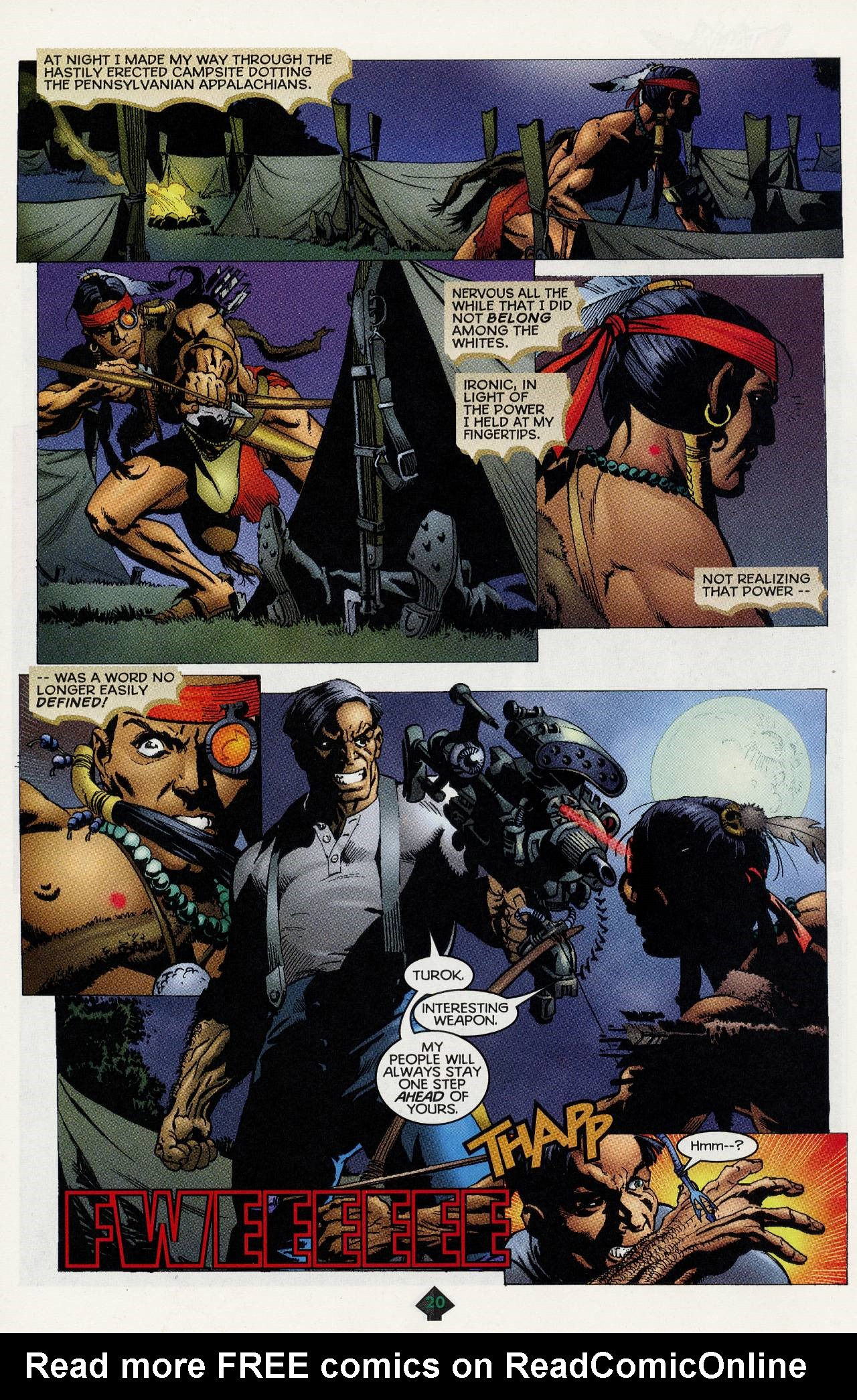 Read online Turok: Tales of the Lost Land comic -  Issue # Full - 18