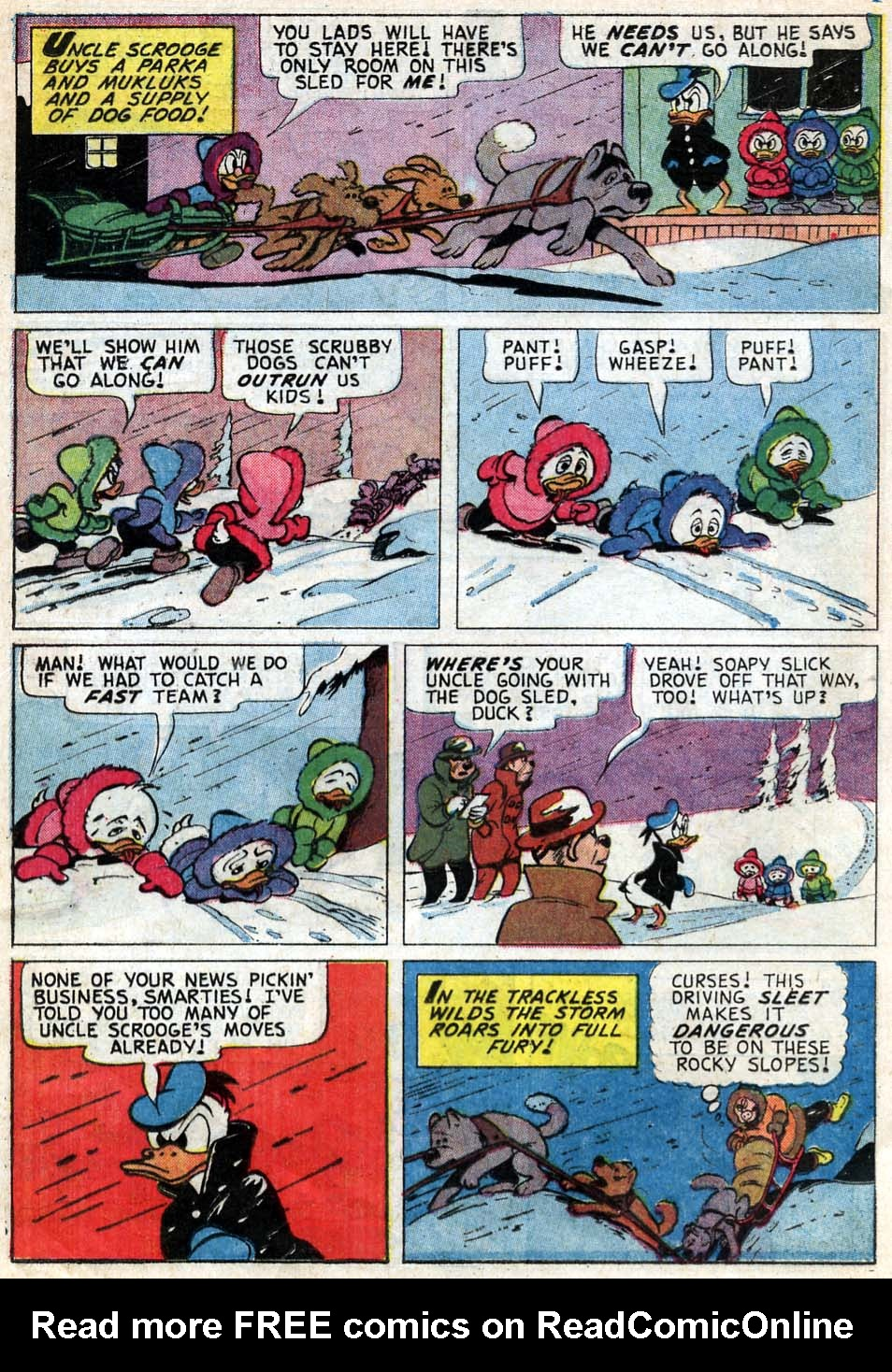 Read online Uncle Scrooge (1953) comic -  Issue #59 - 16