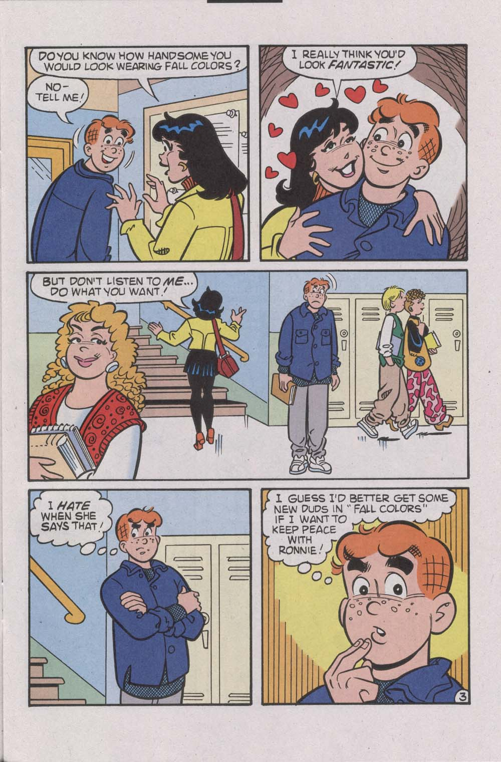Read online Archie (1960) comic -  Issue #541 - 5