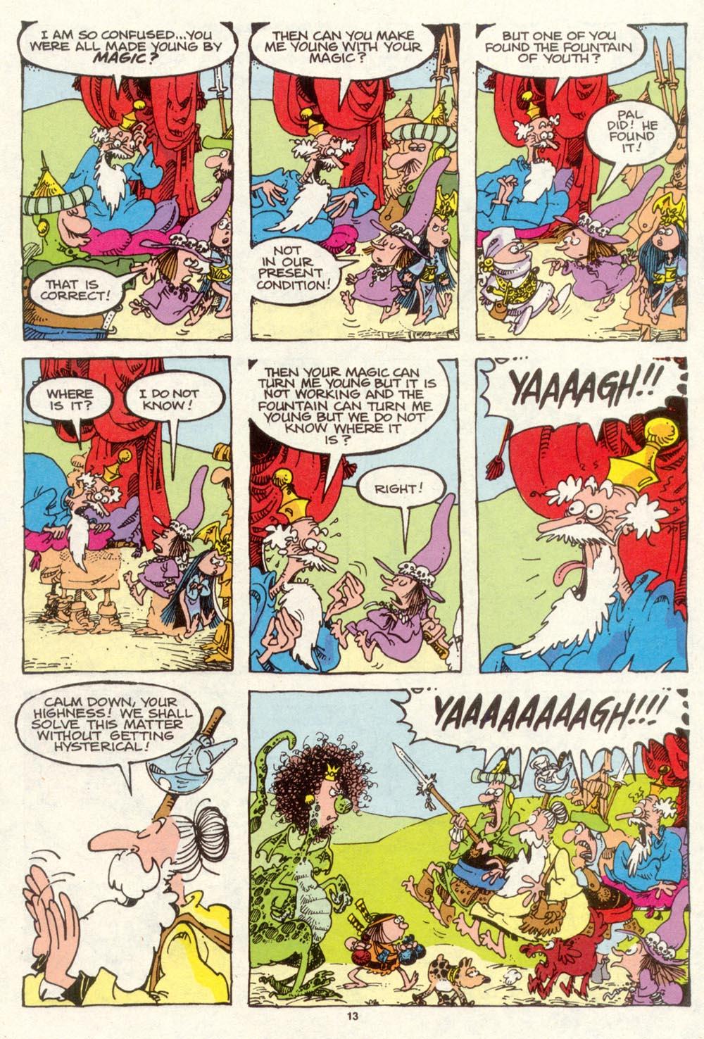 Read online Sergio Aragonés Groo the Wanderer comic -  Issue #93 - 14