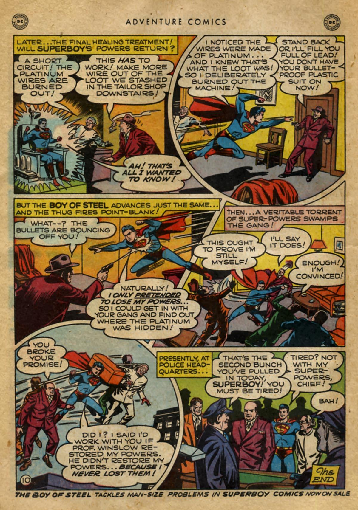 Read online Adventure Comics (1938) comic -  Issue #141 - 12