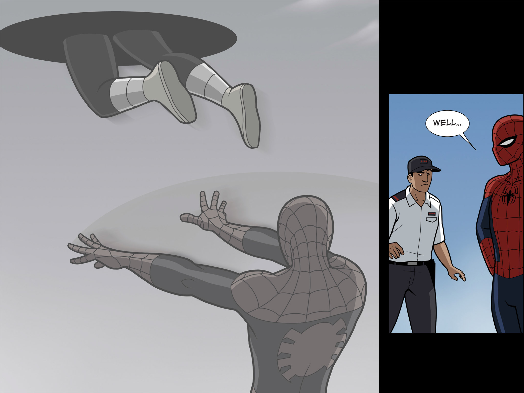 Read online Ultimate Spider-Man (Infinite Comics) (2015) comic -  Issue #9 - 18