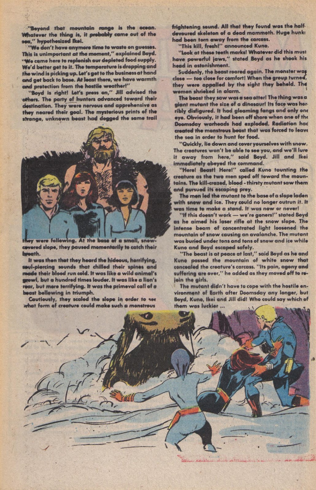 Read online Doomsday   1 (1975) comic -  Issue #10 - 31
