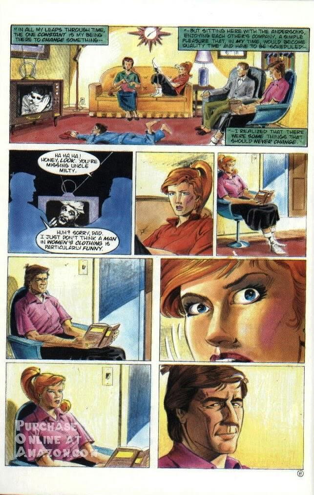 Read online Quantum Leap comic -  Issue #6 - 9