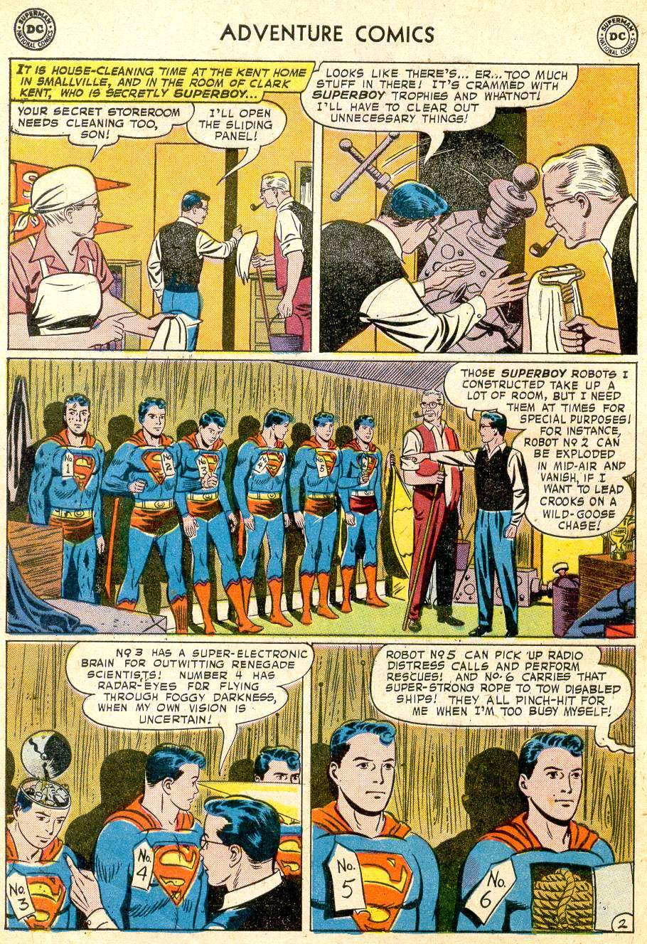 Read online Adventure Comics (1938) comic -  Issue #251 - 4