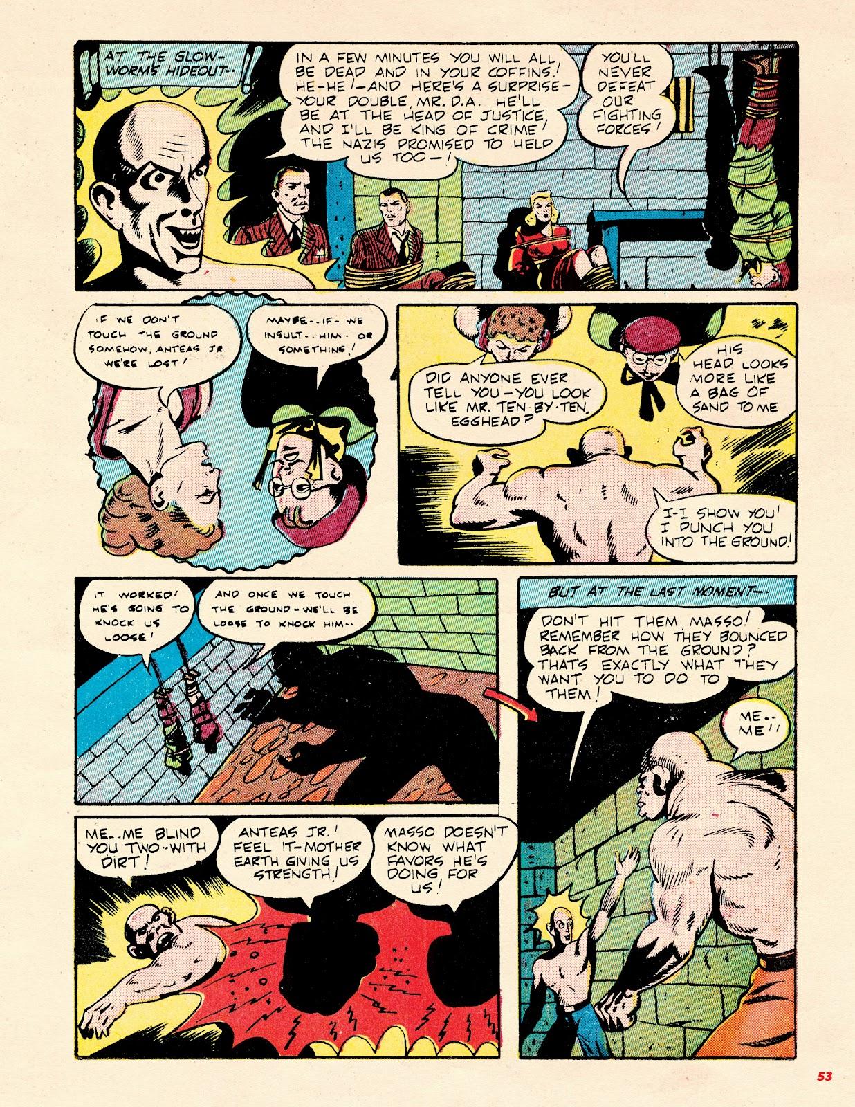 Read online Super Weird Heroes comic -  Issue # TPB 2 (Part 1) - 53