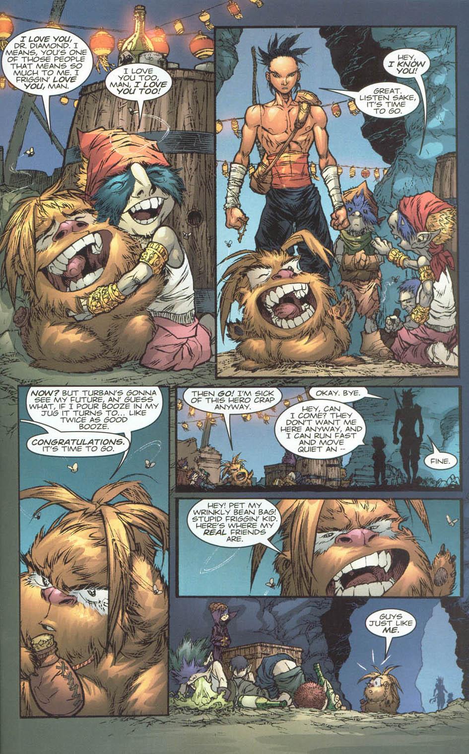 Read online Ninja Boy comic -  Issue #4 - 21