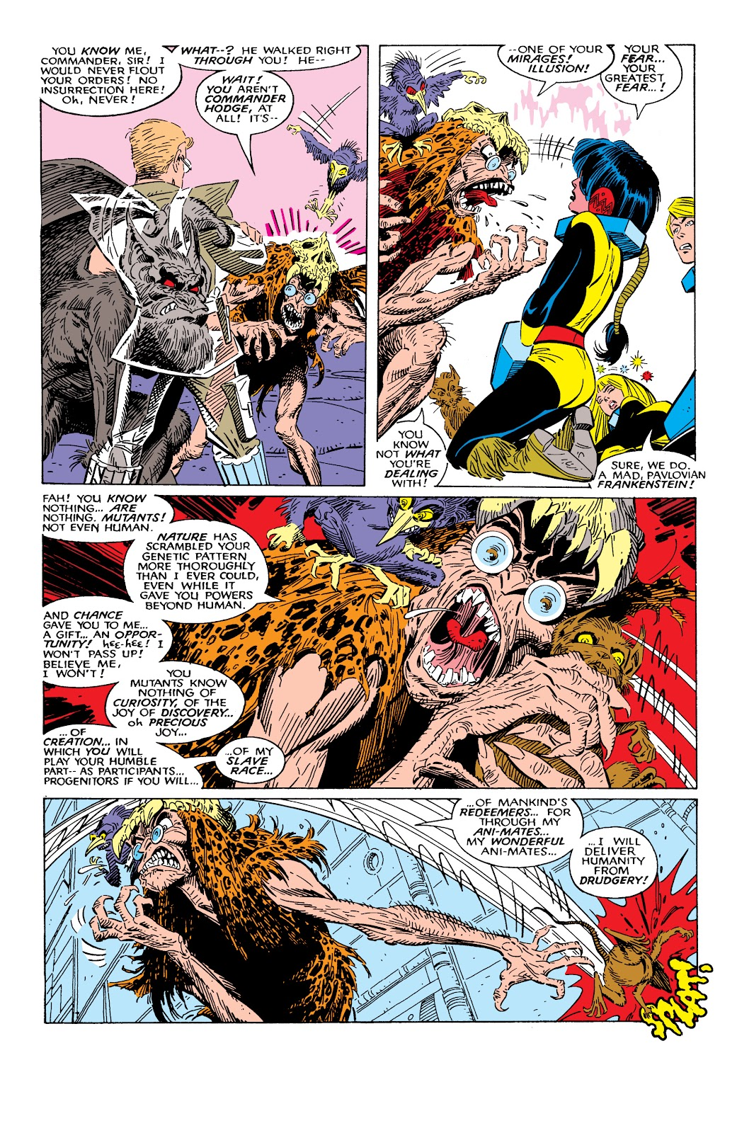 Read online X-Men Milestones: Fall of the Mutants comic -  Issue # TPB (Part 2) - 20