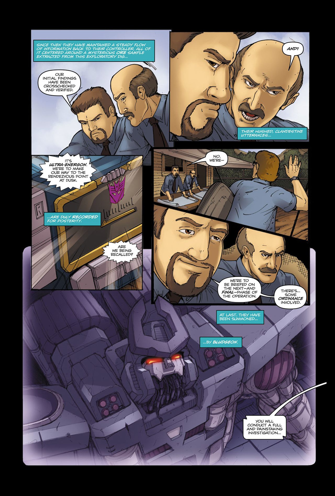 Read online Transformers Spotlight: Soundwave comic -  Issue # Full - 5
