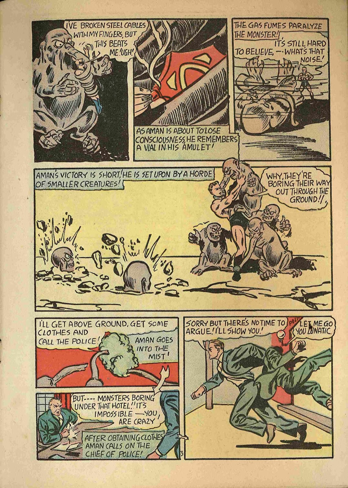 Stars and Stripes Comics issue 2 - Page 5