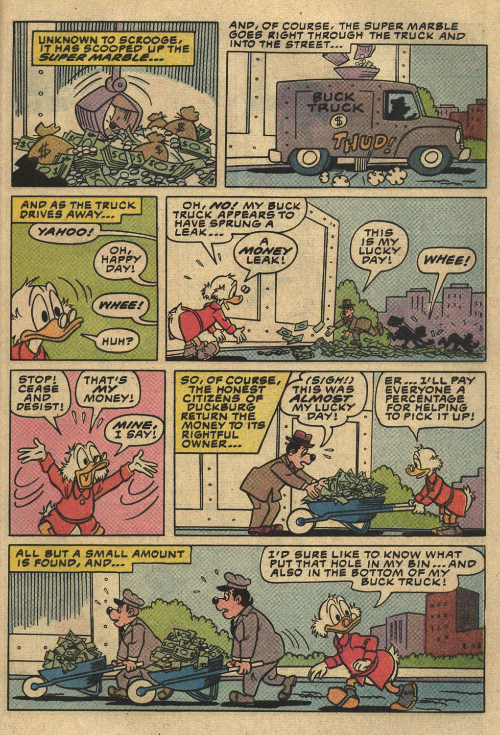 Read online Uncle Scrooge (1953) comic -  Issue #194 - 29