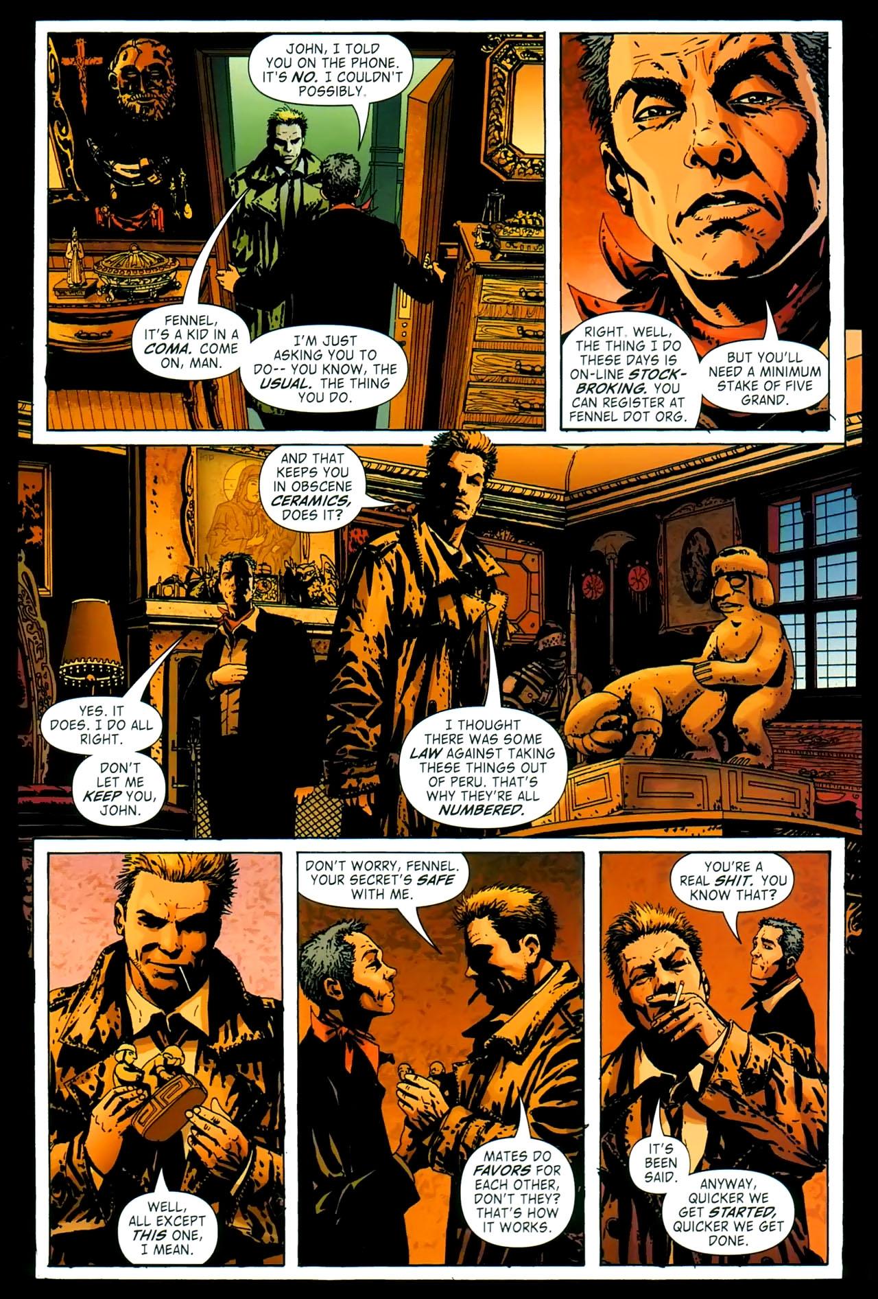 Read online John Constantine Hellblazer: All His Engines comic -  Issue # Full - 26