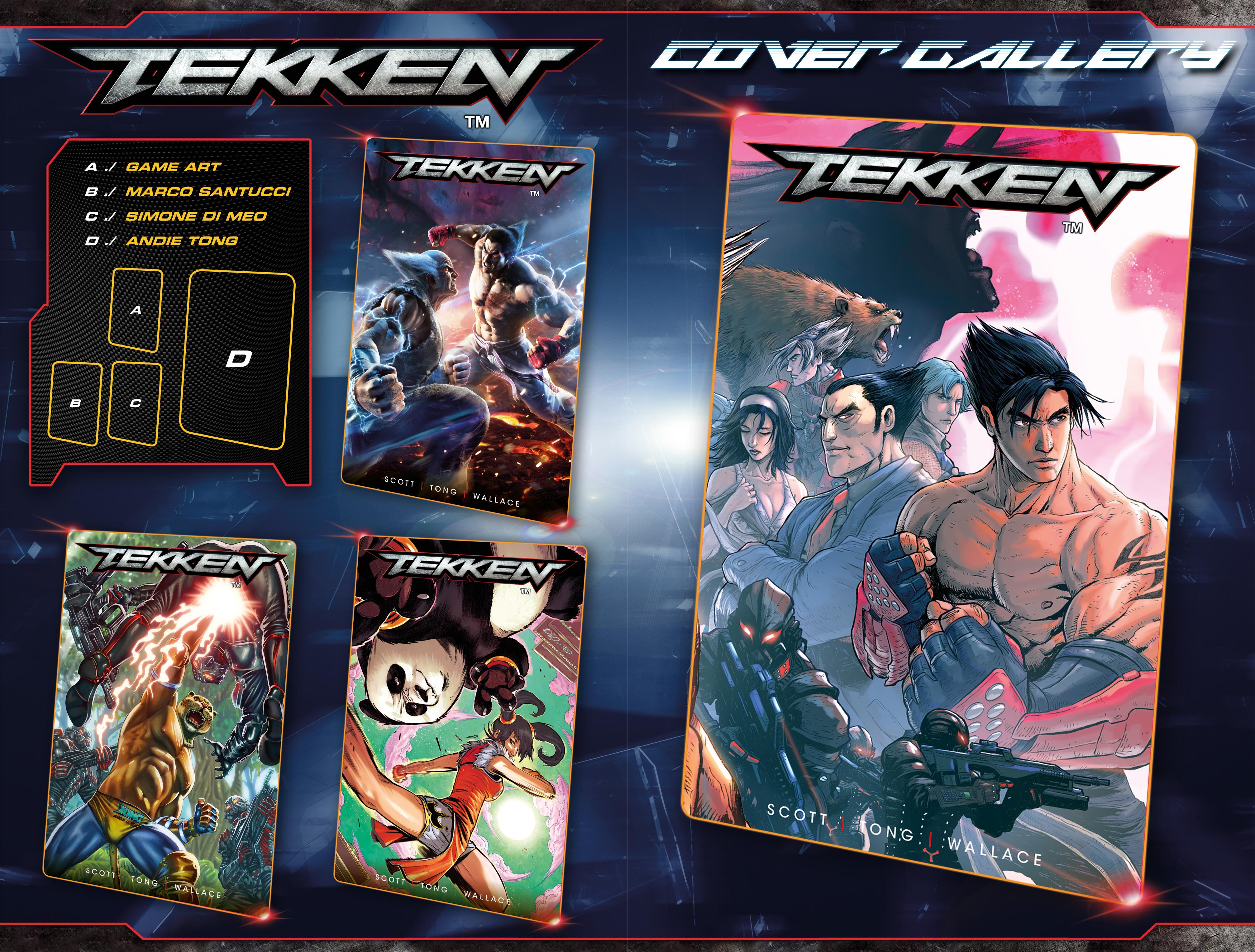 Read online Tekken comic -  Issue #2 - 28