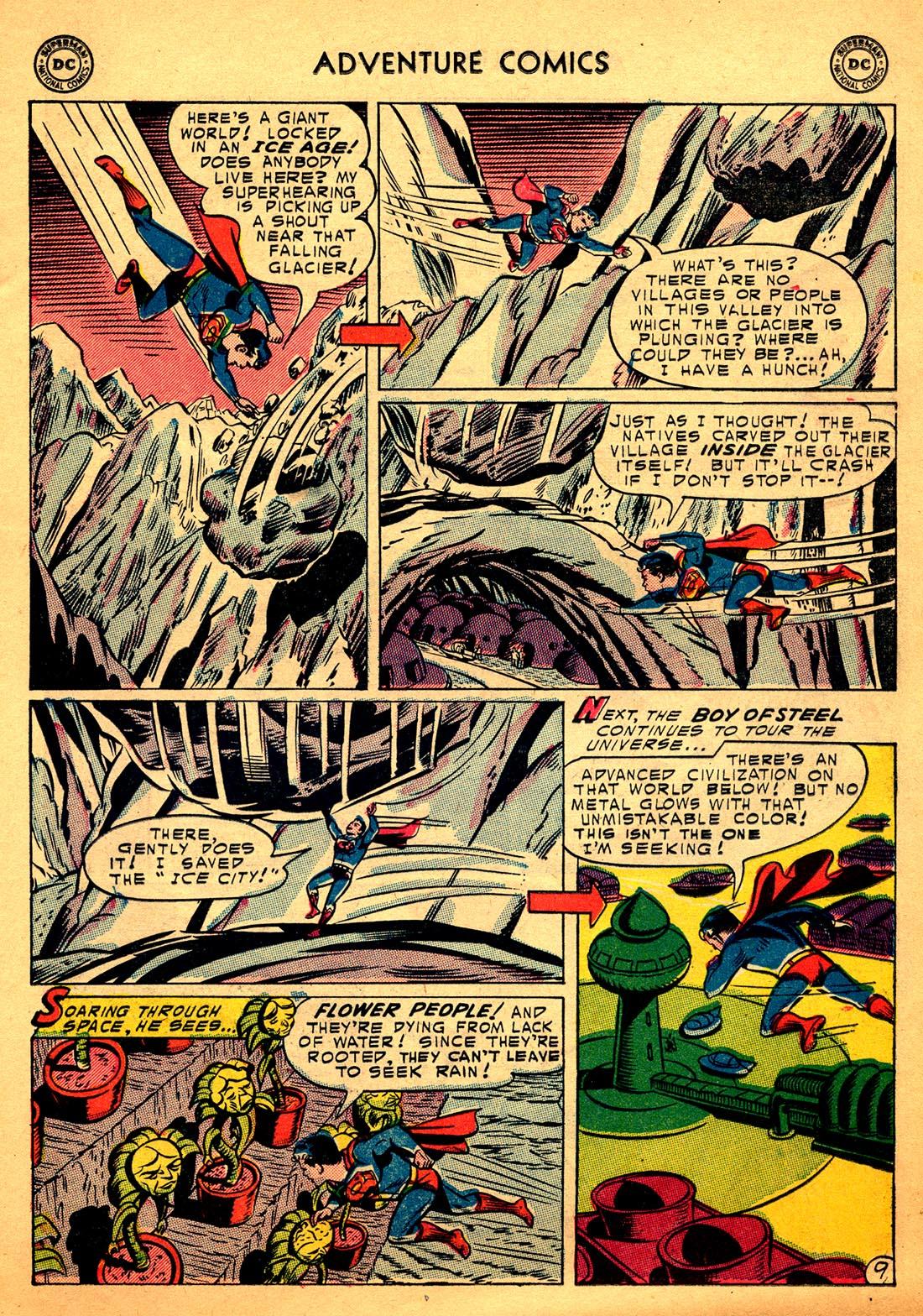 Read online Adventure Comics (1938) comic -  Issue #206 - 11
