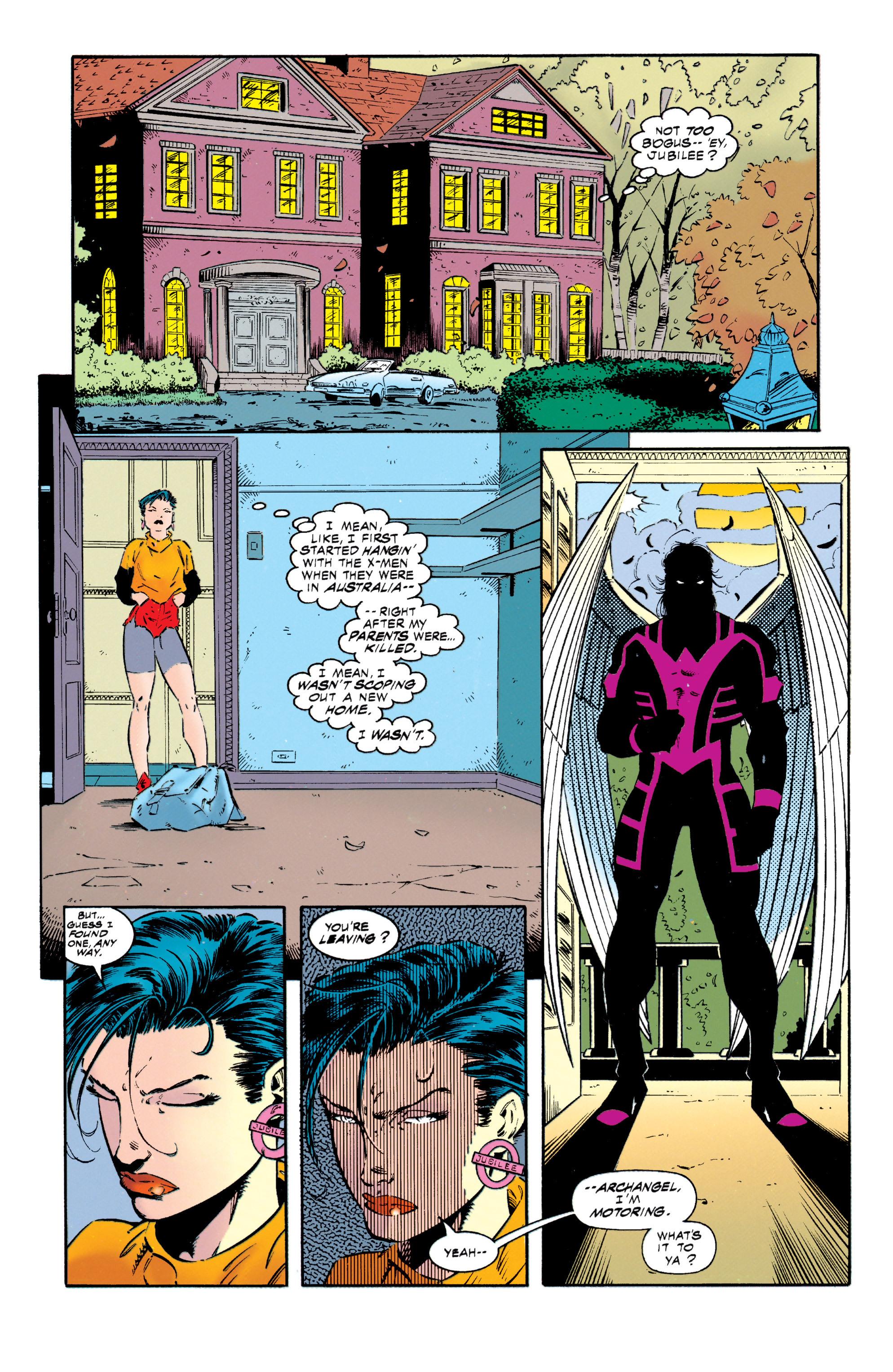 Read online Uncanny X-Men (1963) comic -  Issue #318 - 17