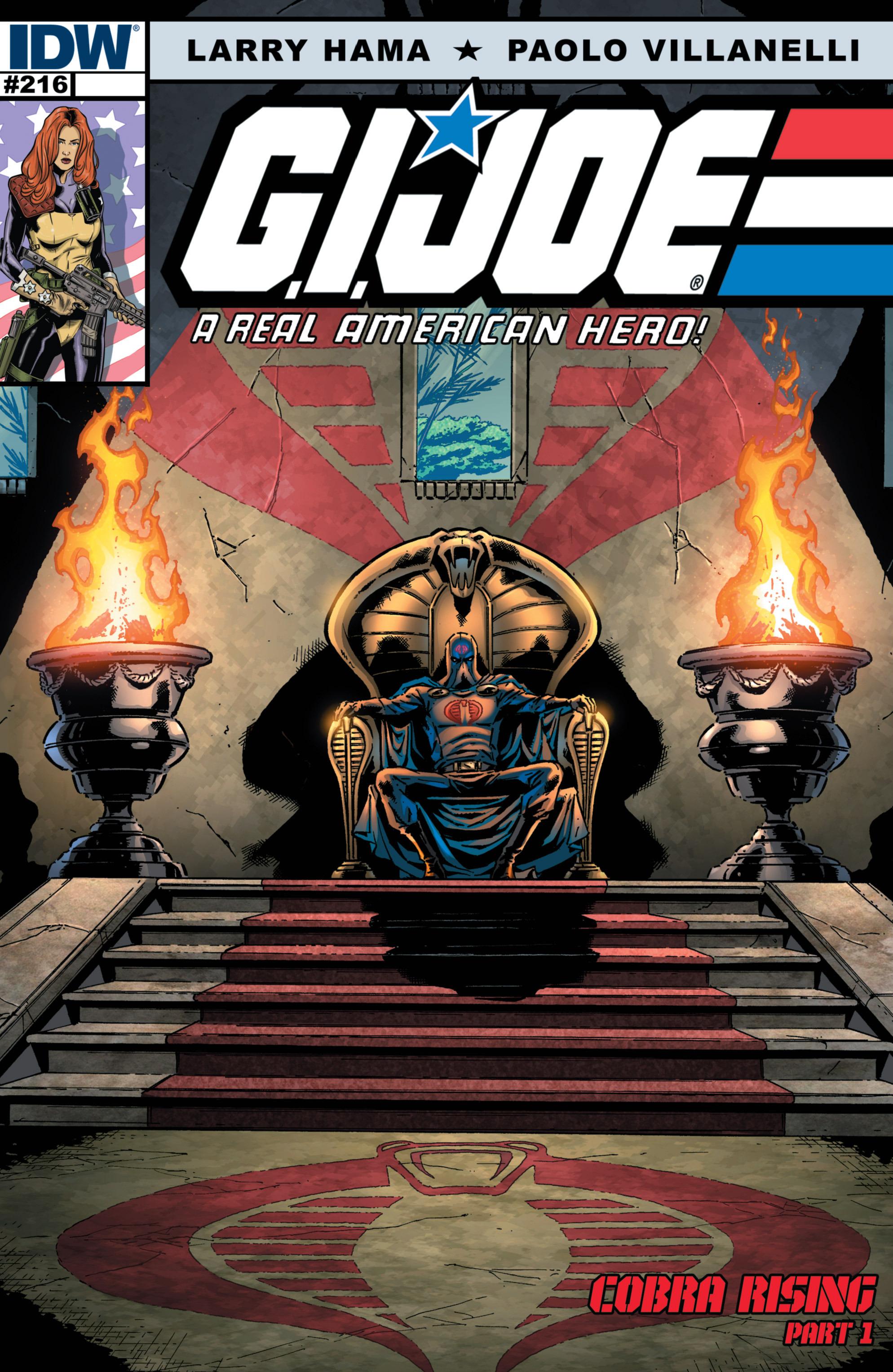 G.I. Joe: A Real American Hero 216 Page 1