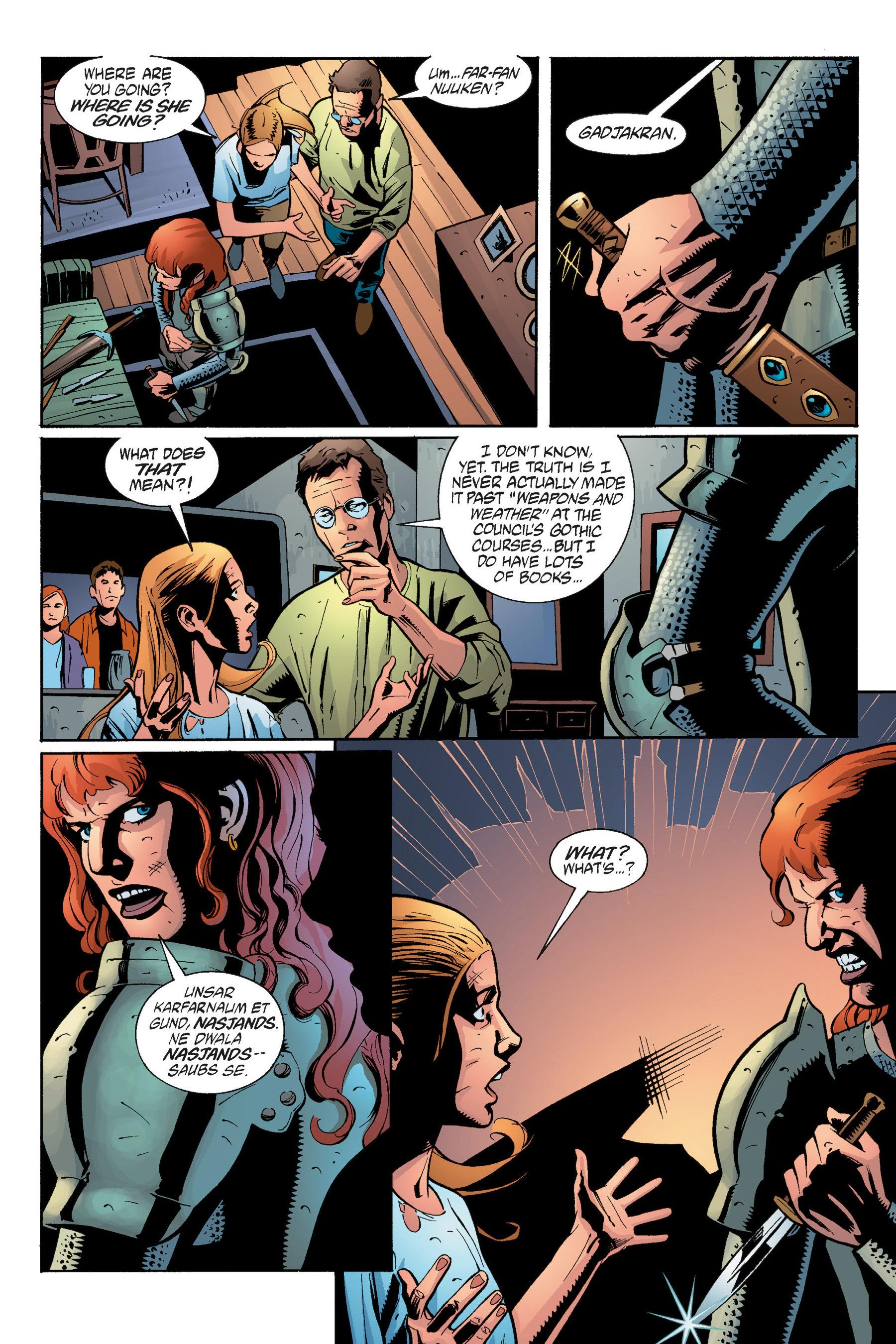 Read online Buffy the Vampire Slayer: Omnibus comic -  Issue # TPB 5 - 260