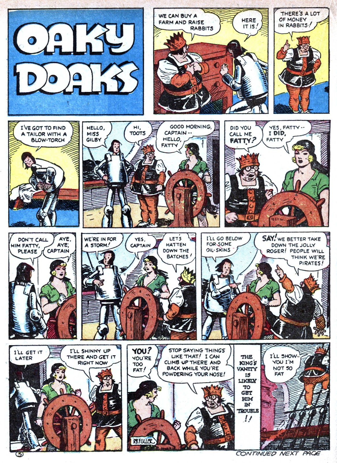 Read online Famous Funnies comic -  Issue #79 - 40