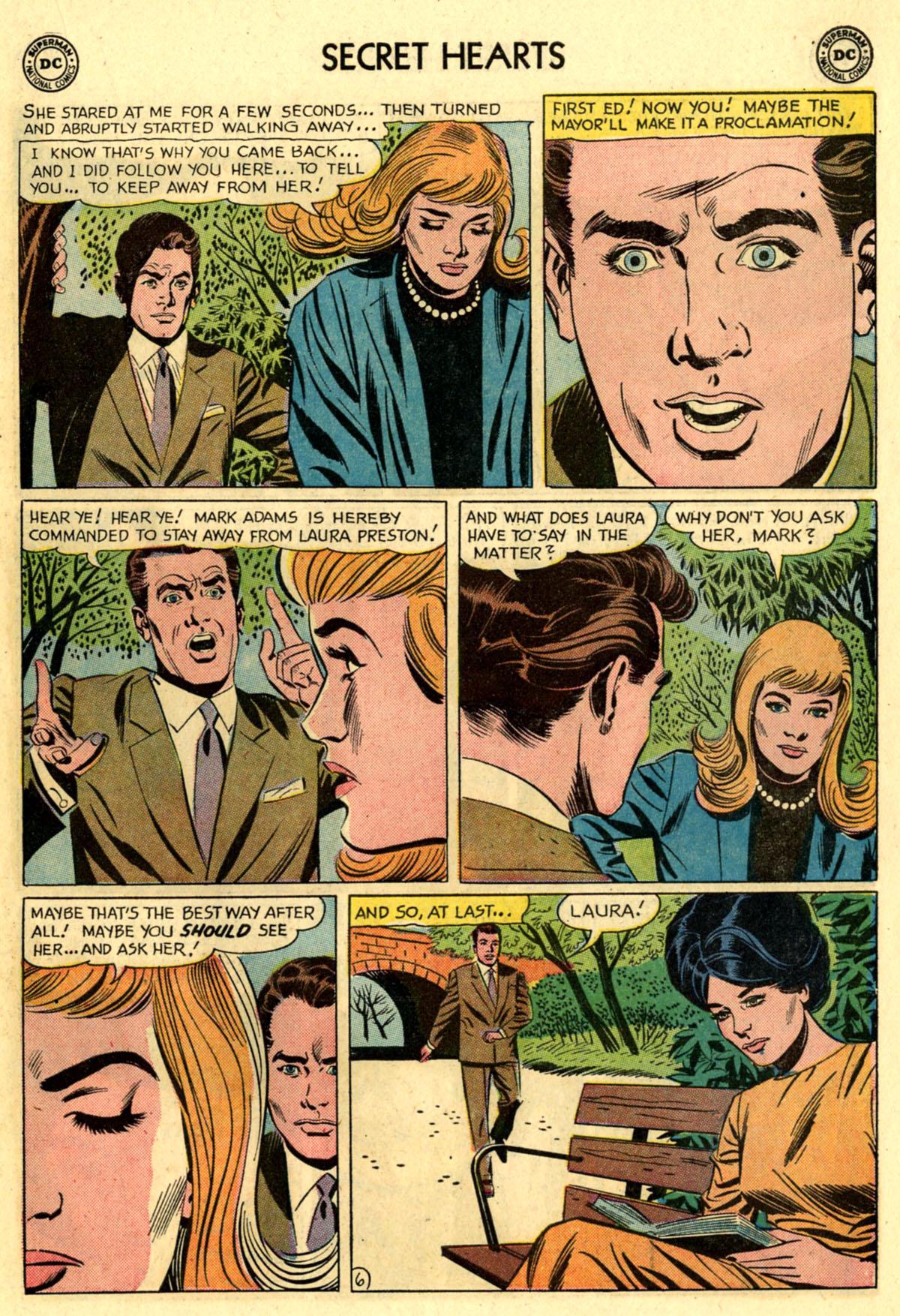 Read online Secret Hearts comic -  Issue #83 - 15