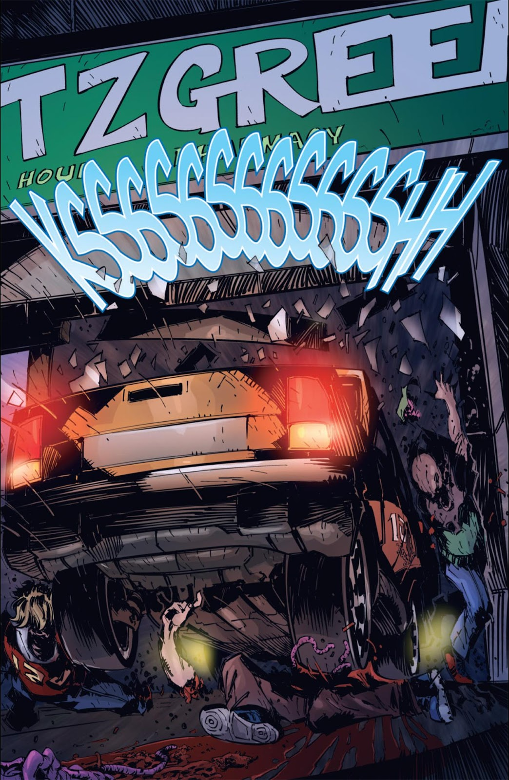 Read online Dead Rising: Road to Fortune comic -  Issue #4 - 10