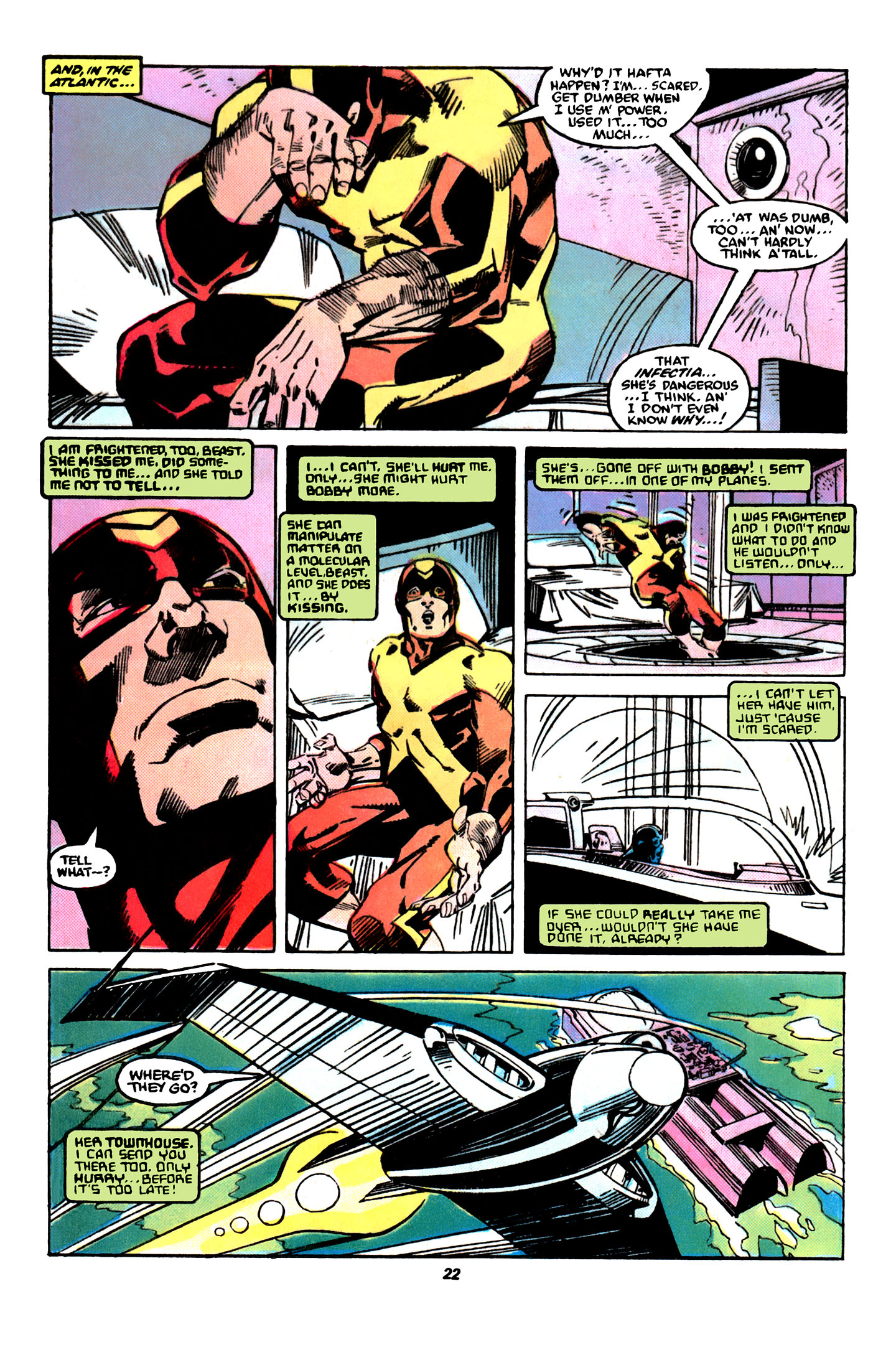 Read online X-Factor (1986) comic -  Issue #31 - 17
