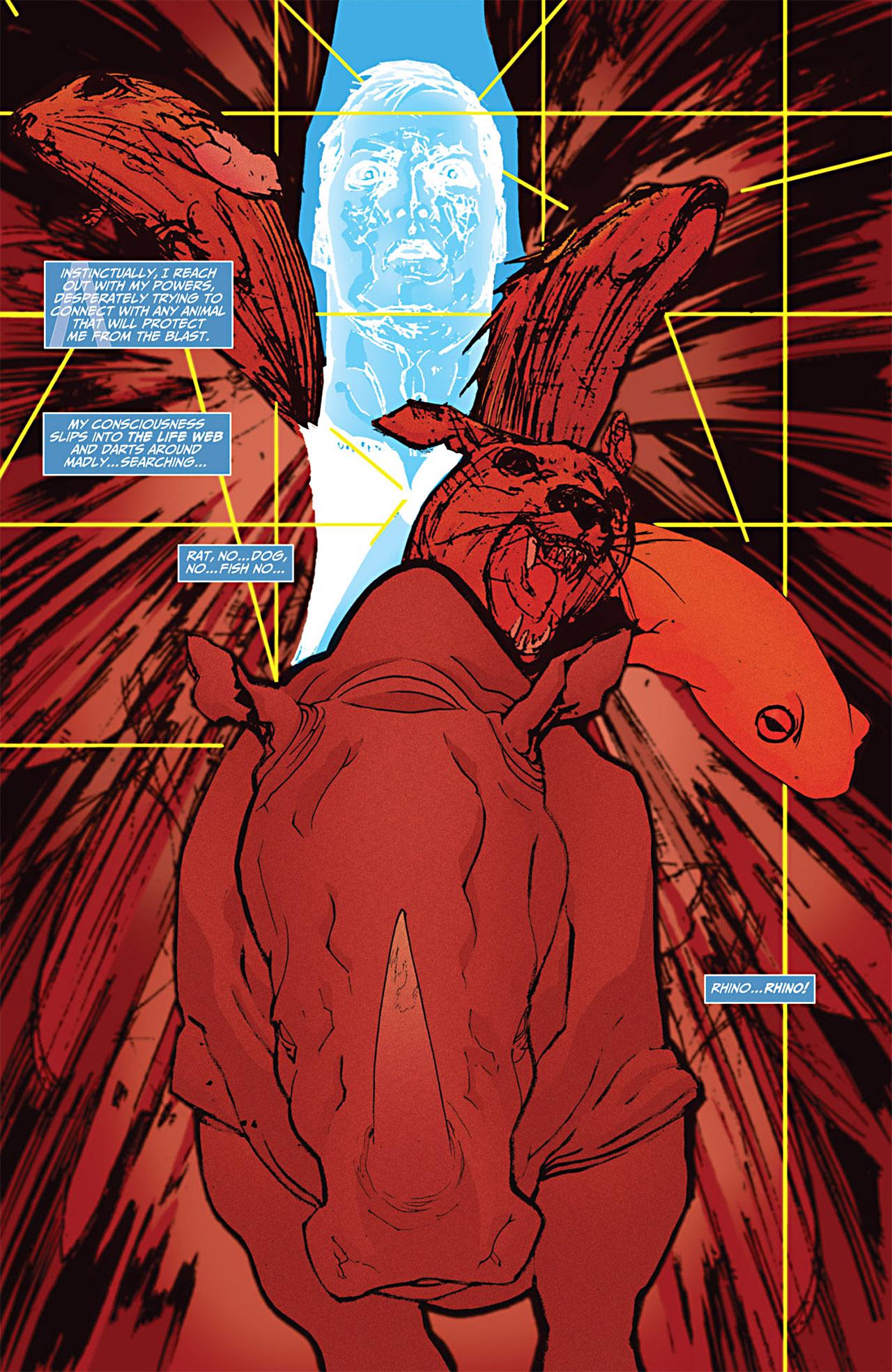 Read online Animal Man (2011) comic -  Issue #1 - 11