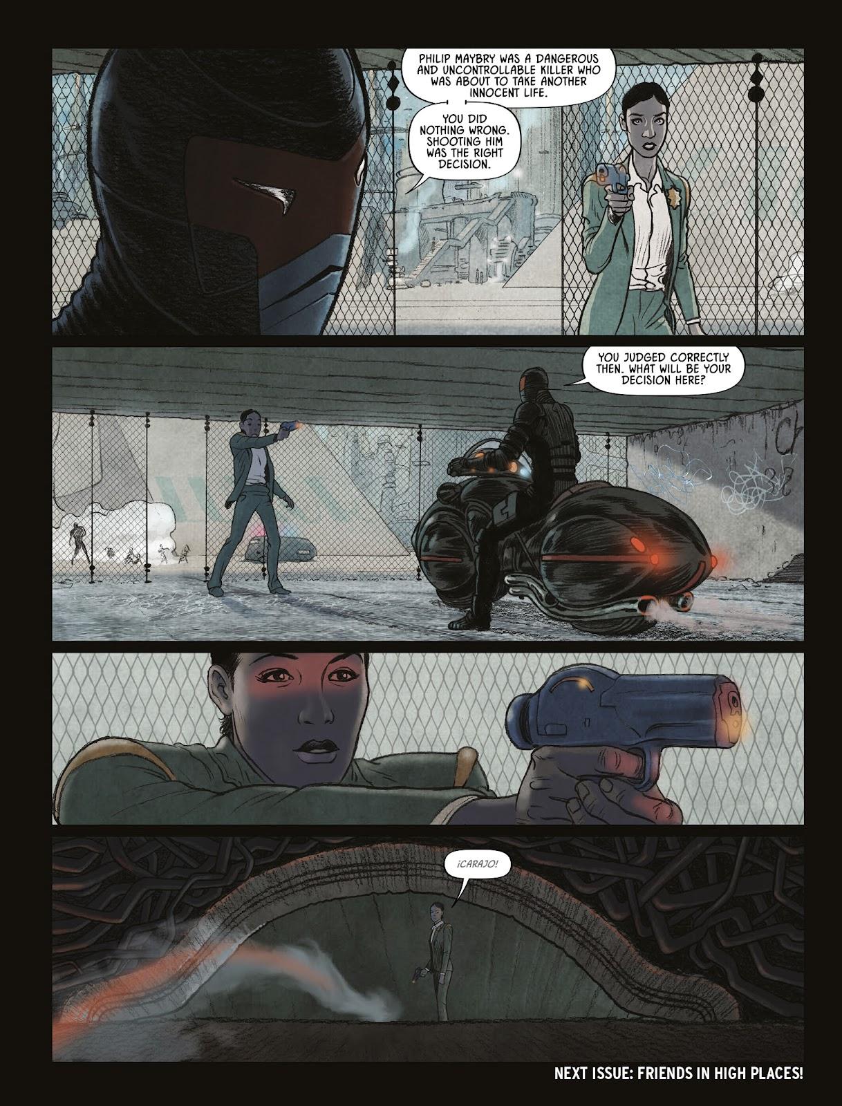Judge Dredd Megazine (Vol. 5) issue 427 - Page 25