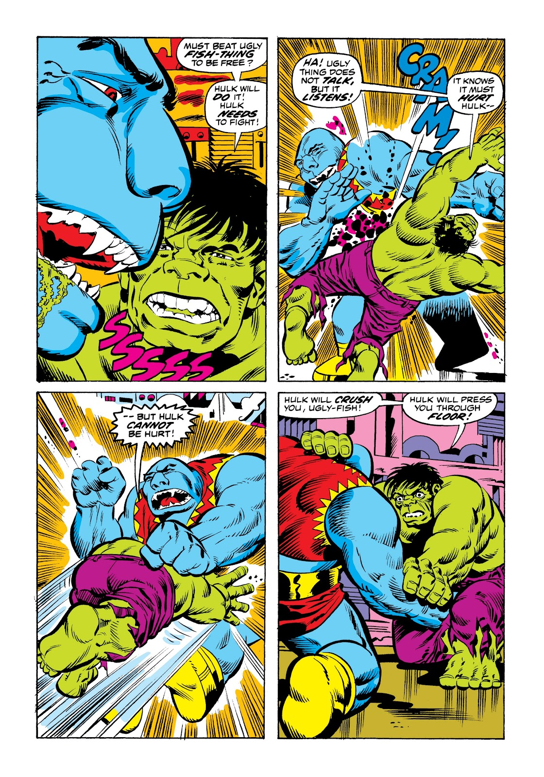 Read online Marvel Masterworks: The Incredible Hulk comic -  Issue # TPB 9 (Part 2) - 88