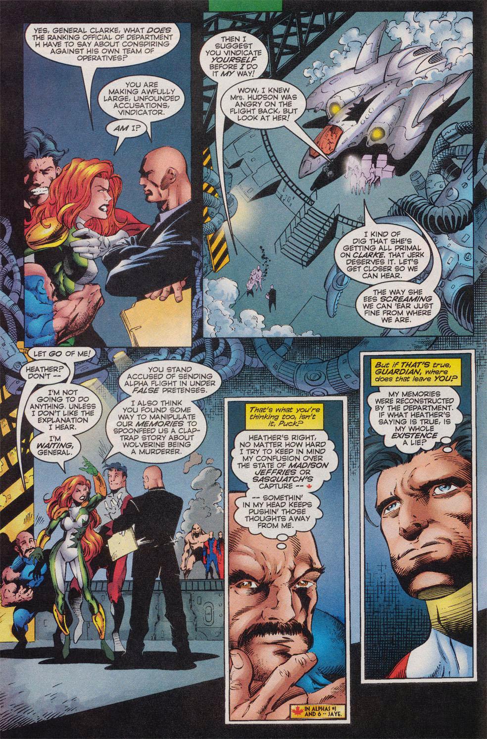 Read online Alpha Flight (1997) comic -  Issue #10 - 3