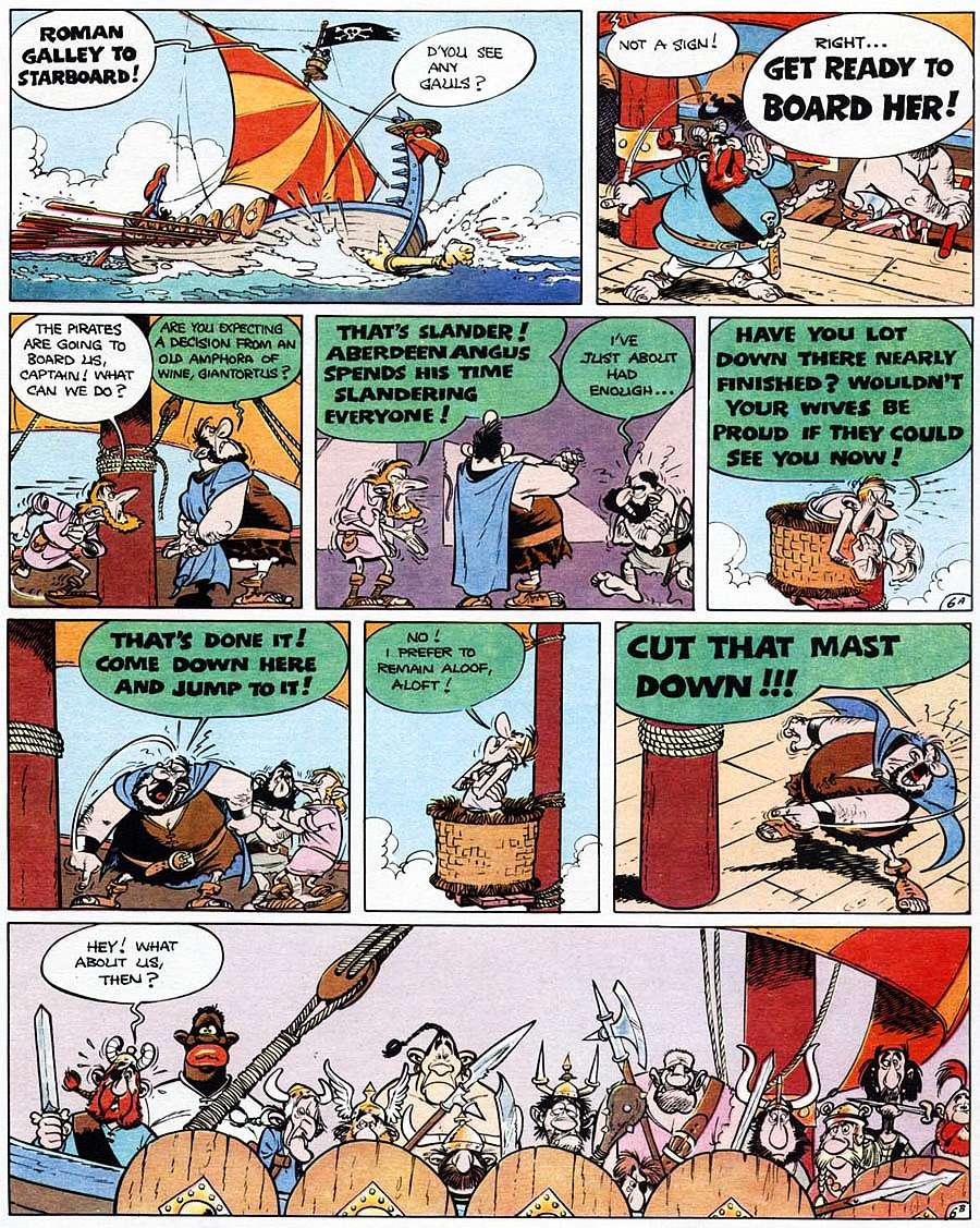 Read online Asterix comic -  Issue #15 - 11