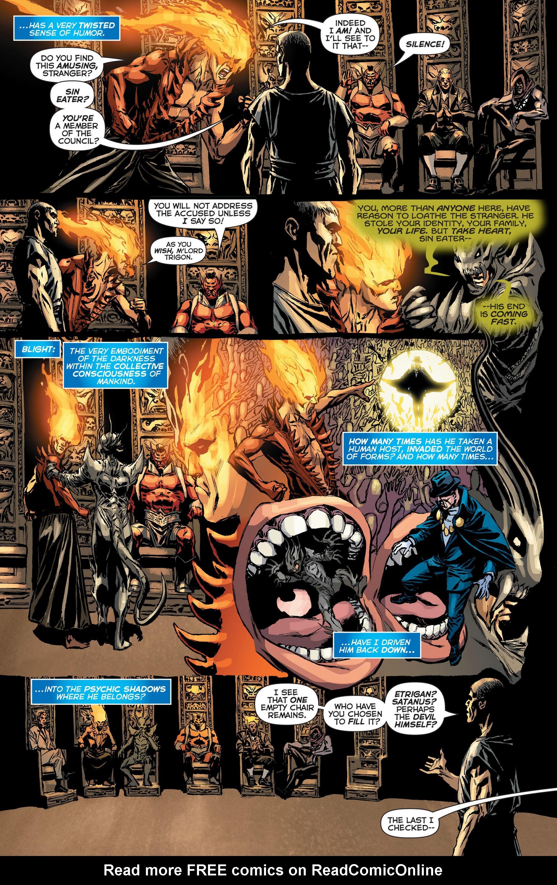 Read online Trinity of Sin: The Phantom Stranger: Futures End comic -  Issue # Full - 8