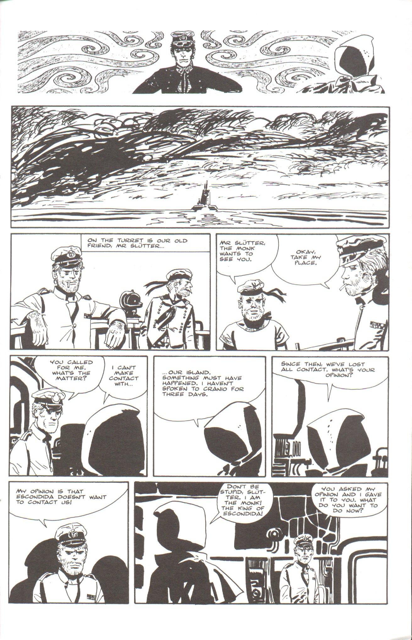 Read online Corto Maltese: Ballad of the Salt Sea comic -  Issue #5 - 23