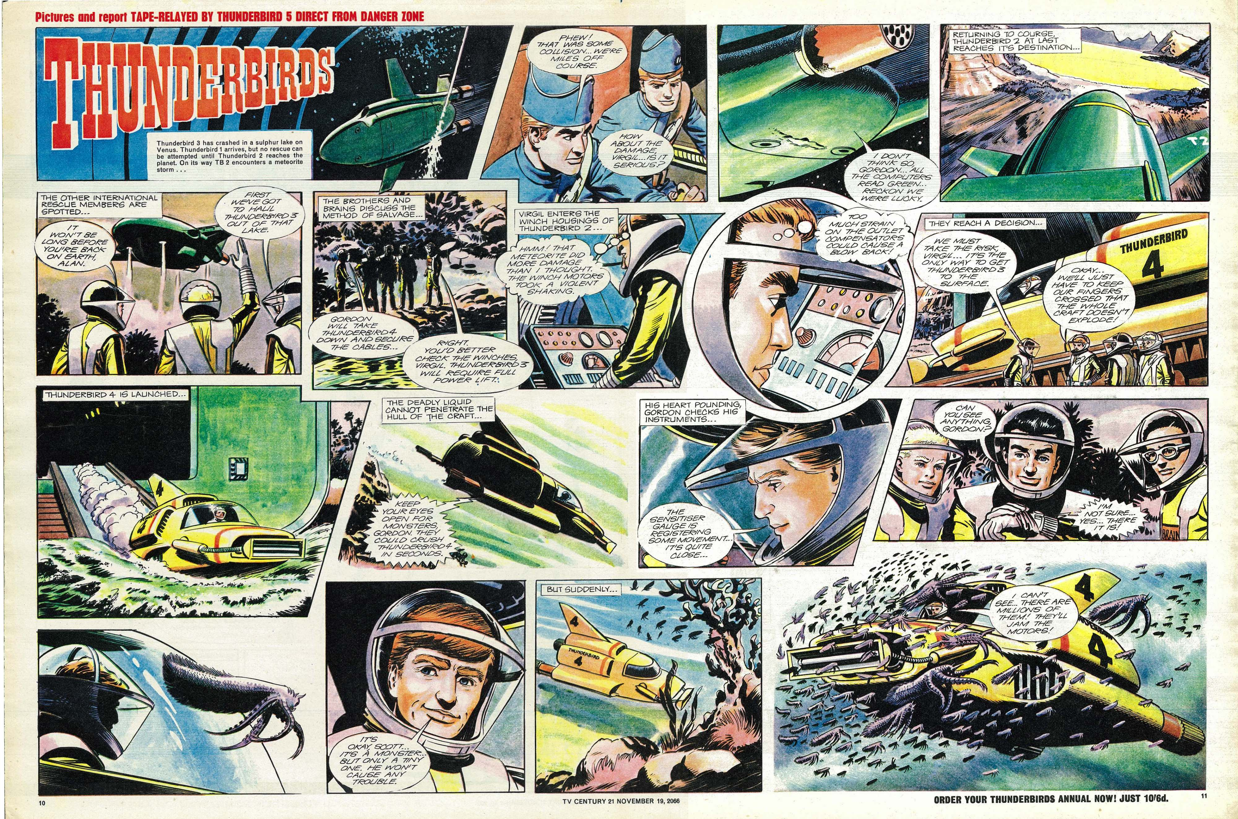 Read online TV Century 21 (TV 21) comic -  Issue #96 - 10