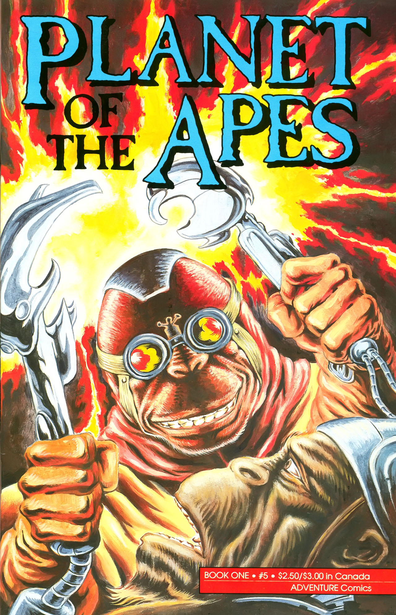 Planet of the Apes (1990) 5 Page 1